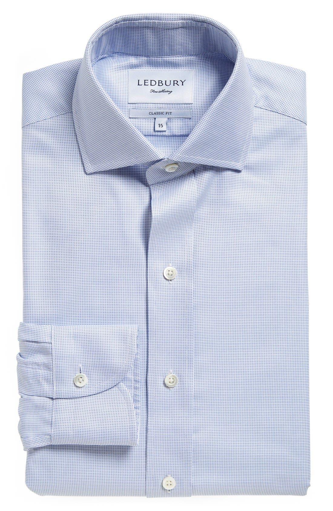 Ledbury Classic Fit Check Dress Shirt