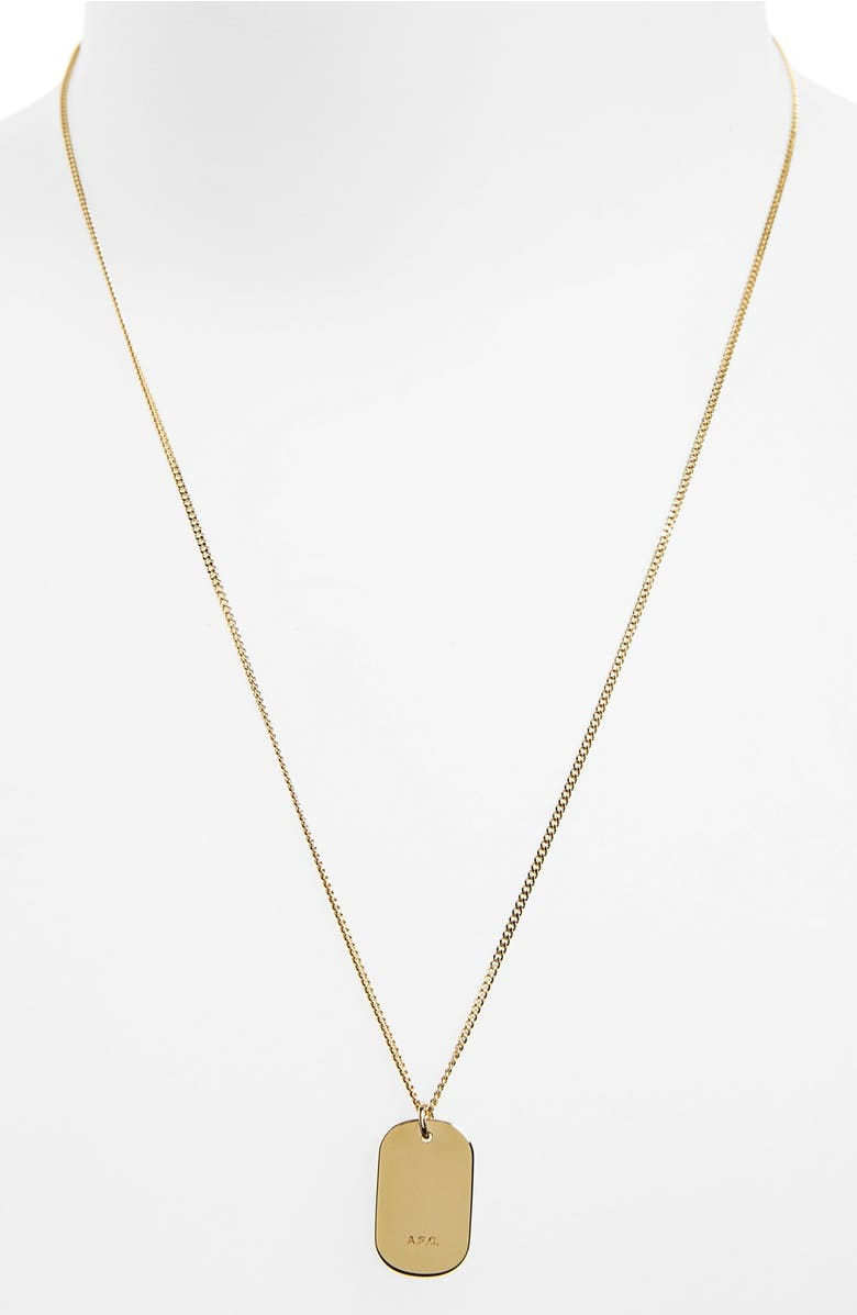 webshop curtis products paris nomad apc silver toronto necklace