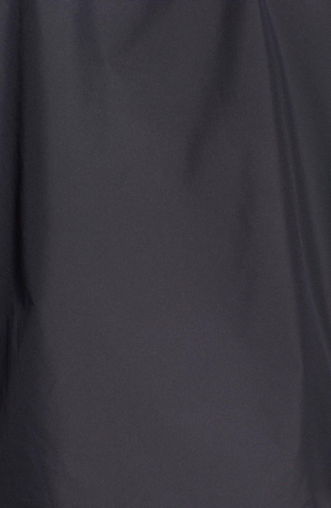'Vancouver' Packable Rain Jacket,                             Alternate thumbnail 5, color,                             Black