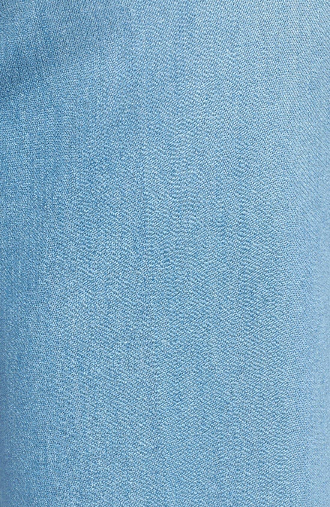 Alternate Image 5  - NYDJ 'Sophia' Stretch Ankle Flare Leg Jeans (Palm Bay)