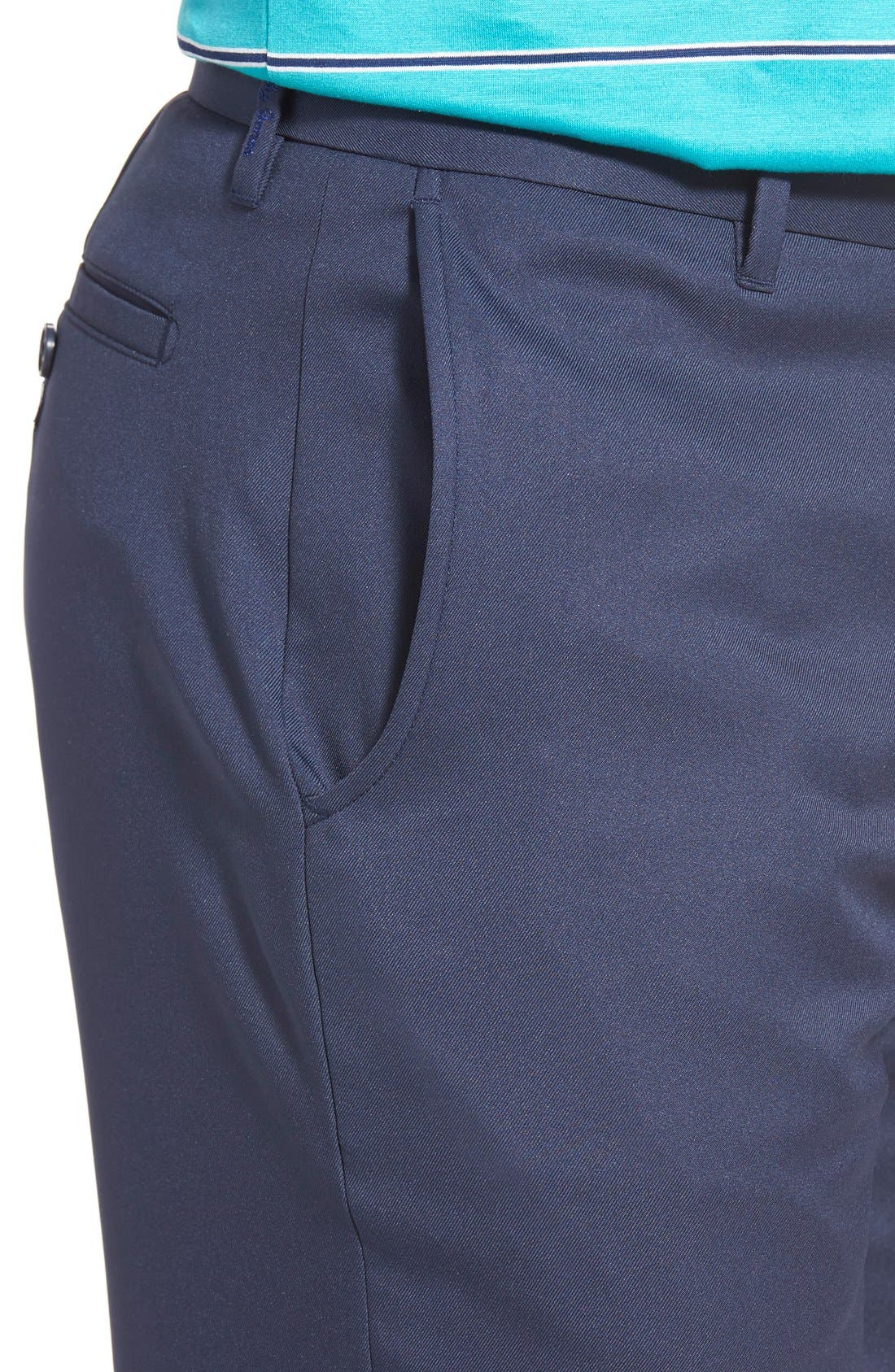 Alternate Image 4  - Bobby Jones 'Tech' Flat Front Wrinkle Free Golf Pants