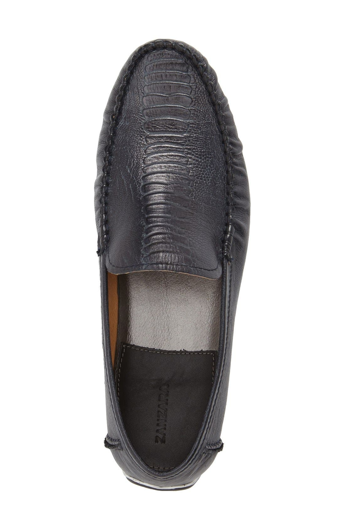 Alternate Image 4  - Zanzara 'Rembrandt' Driving Loafer (Men)