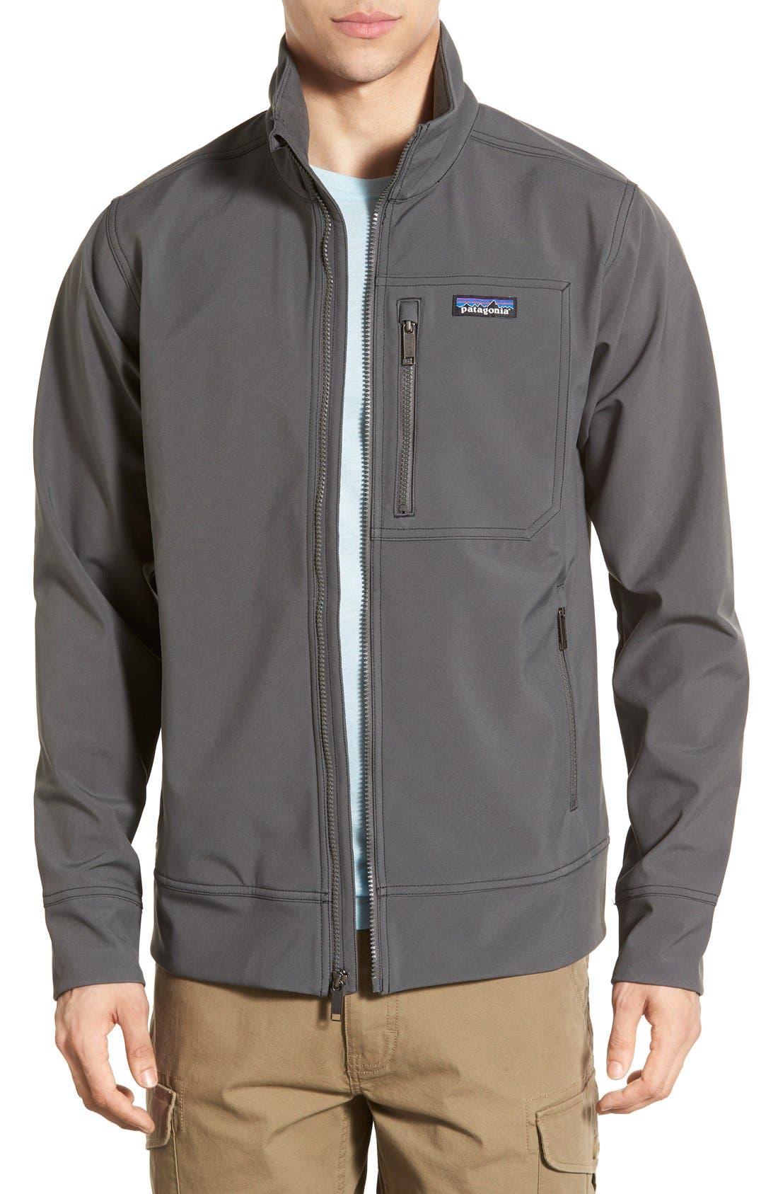 Alternate Image 1 Selected - Patagonia 'Sidesend' Regular Fit Water Repellent Jacket