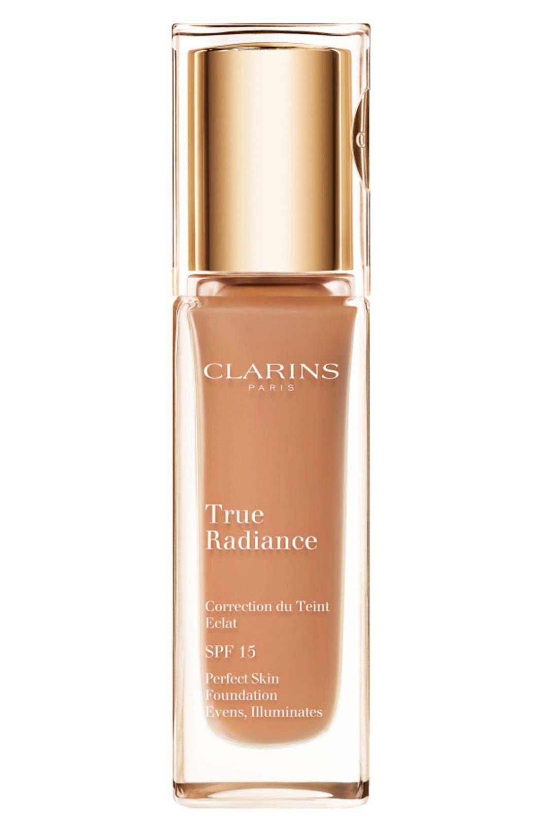 Clarins True Radiance SPF 15 Perfect Skin Foundation