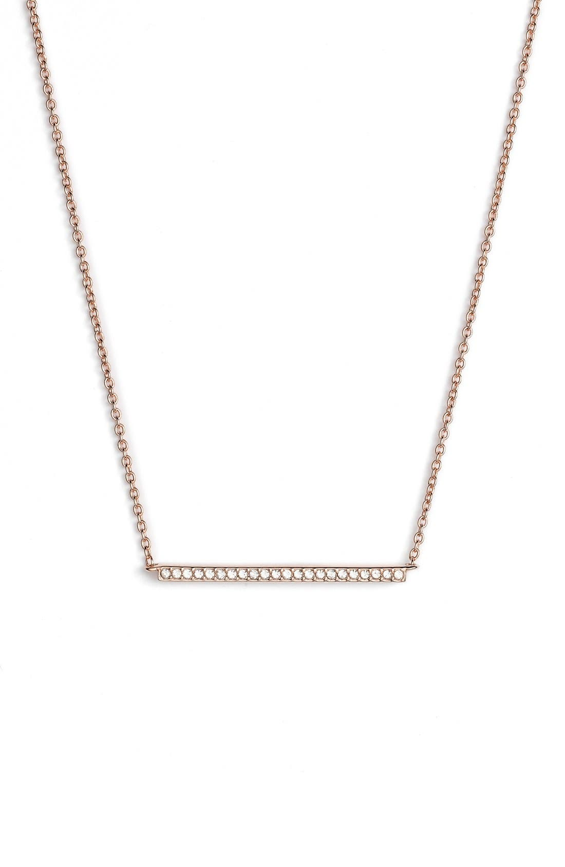 Alternate Image 1 Selected - Nadri Bar Pendant Necklace