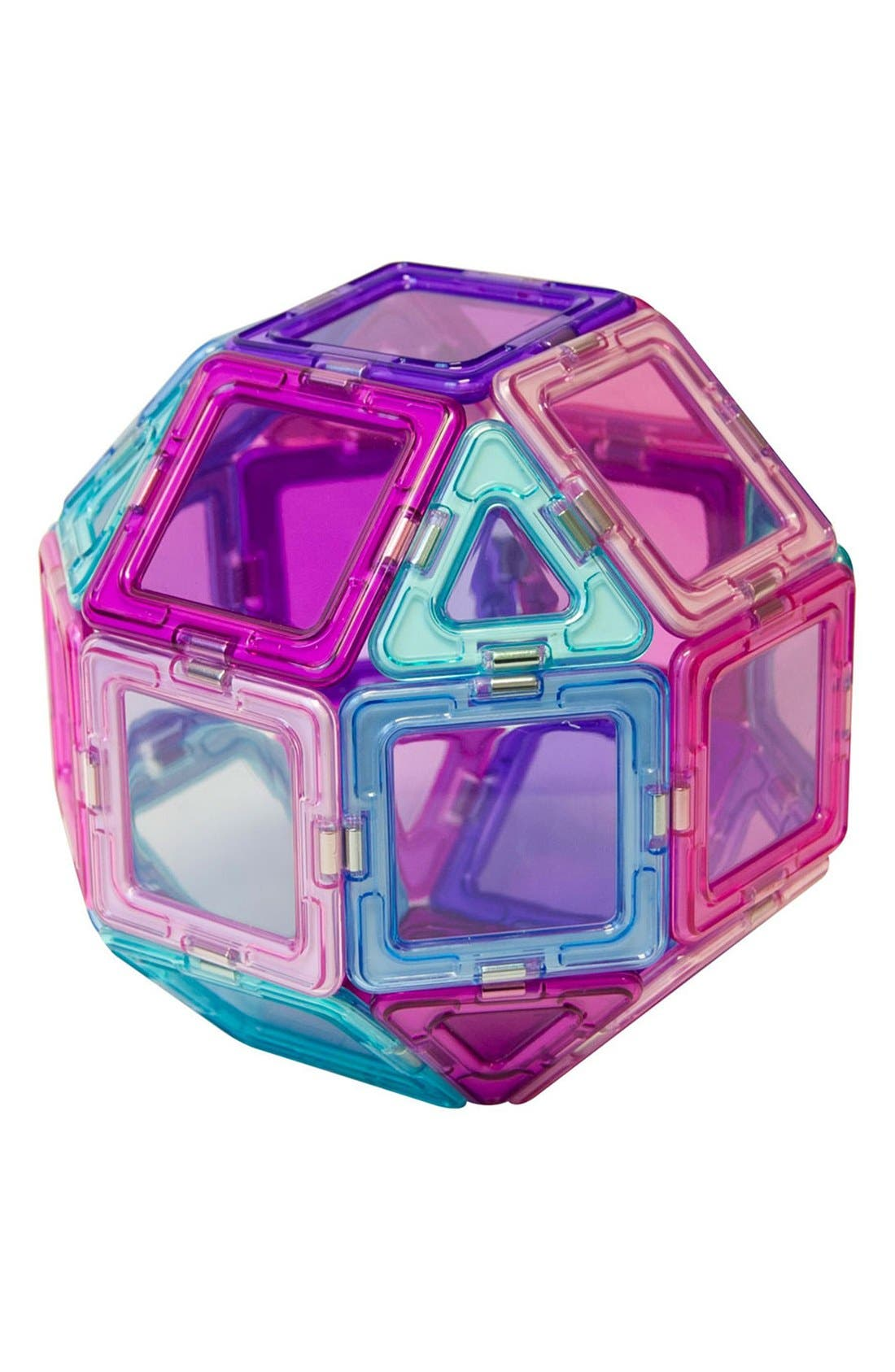 Alternate Image 6  - Magformers 'Inspire - Solids' Clear Magnetic 3D Construction Set
