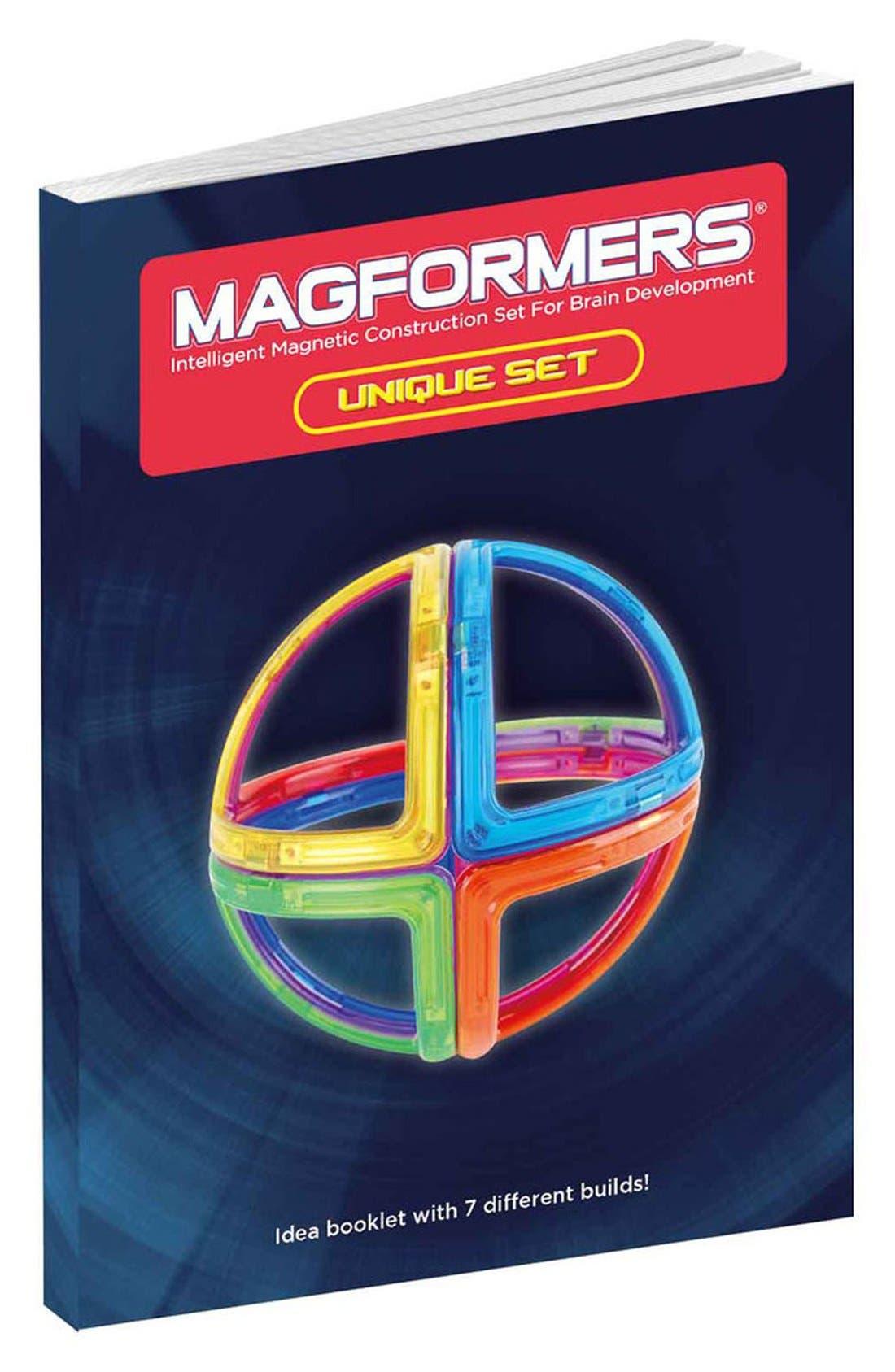 'Creator - Unique' Magnetic 3D Construction Set,                             Alternate thumbnail 8, color,                             Rainbow