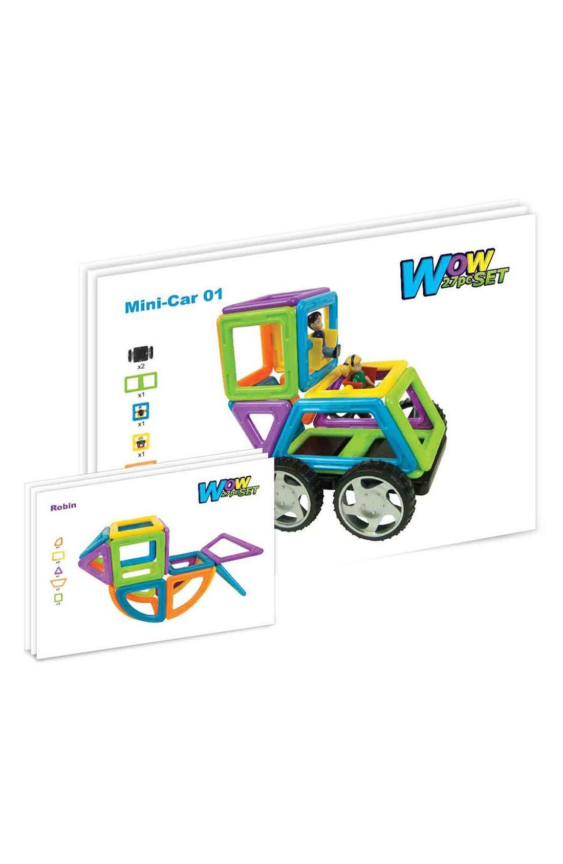 'Vehicle - WOW' Magnetic 3D Construction Set,                             Alternate thumbnail 2, color,                             Opaque Rainbow