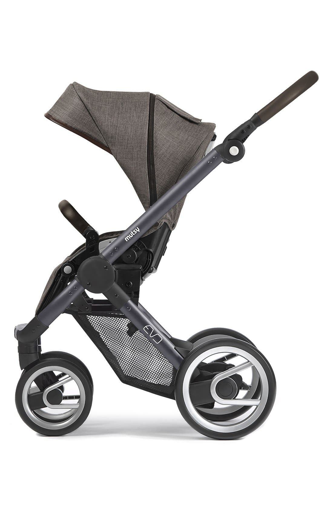 Evo - Farmer Earth Stroller,                             Main thumbnail 1, color,                             Brown/ Dark Grey