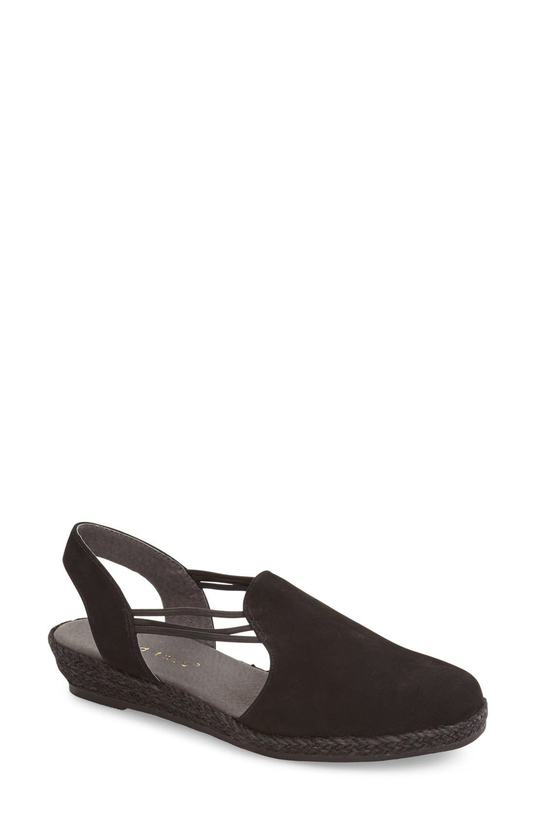 David Tate 'Nelly' Slingback Wedge Sandal (Women)