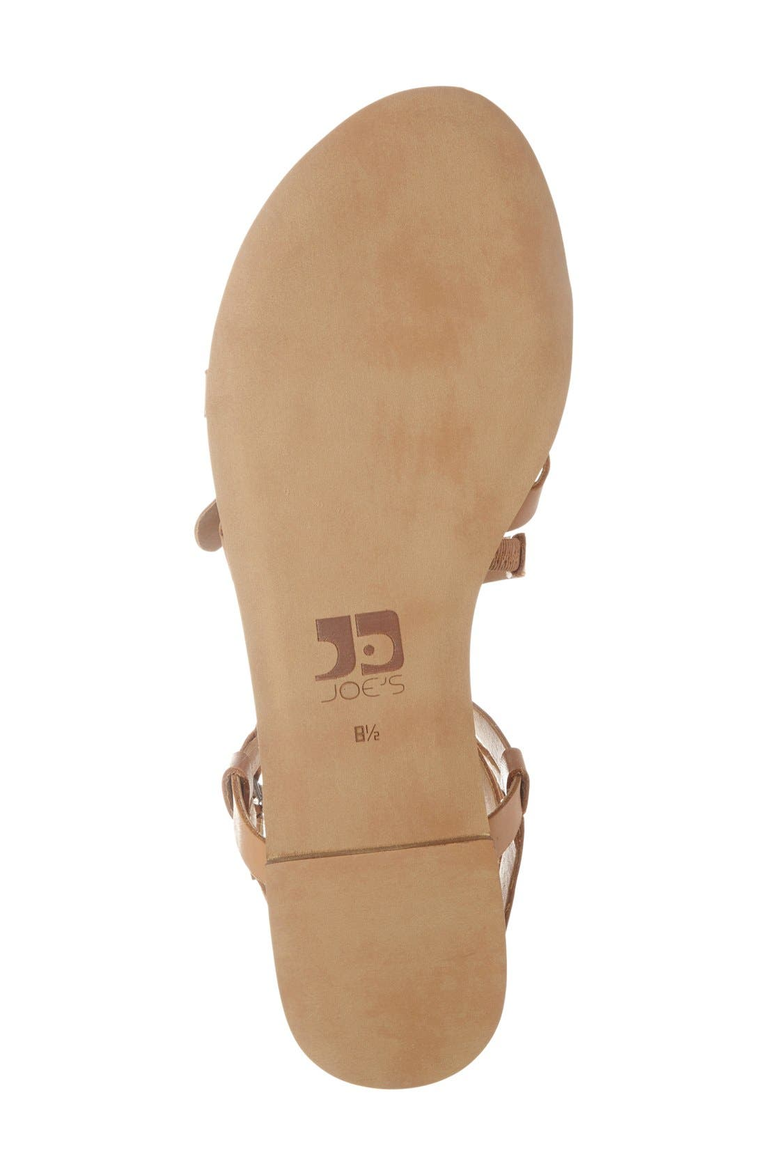 Alternate Image 4  - Joe's 'Teddy' Gladiator Sandal (Women)