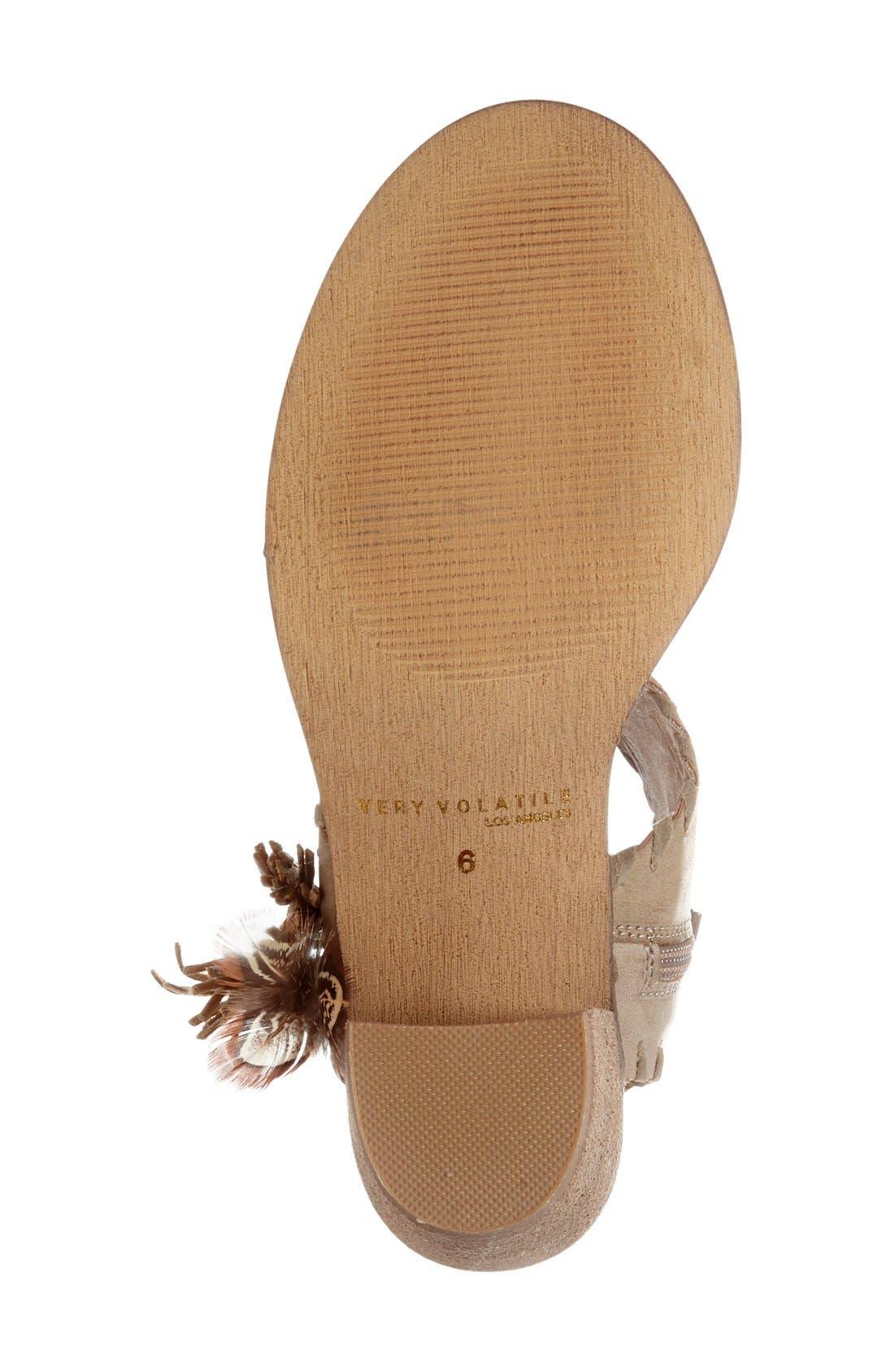 Alternate Image 4  - Very Volatile 'Boho' Tassel Cuff Sandal (Women)