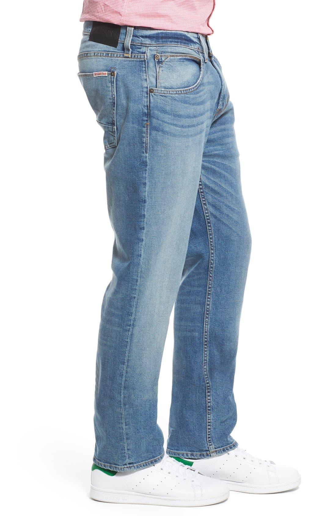 Byron Slim Straight Leg Jeans,                             Alternate thumbnail 4, color,                             Adversary
