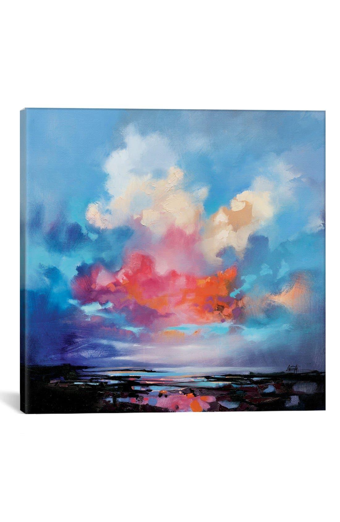 'Diffusion' Giclée Print Canvas Art,                         Main,                         color, Blue
