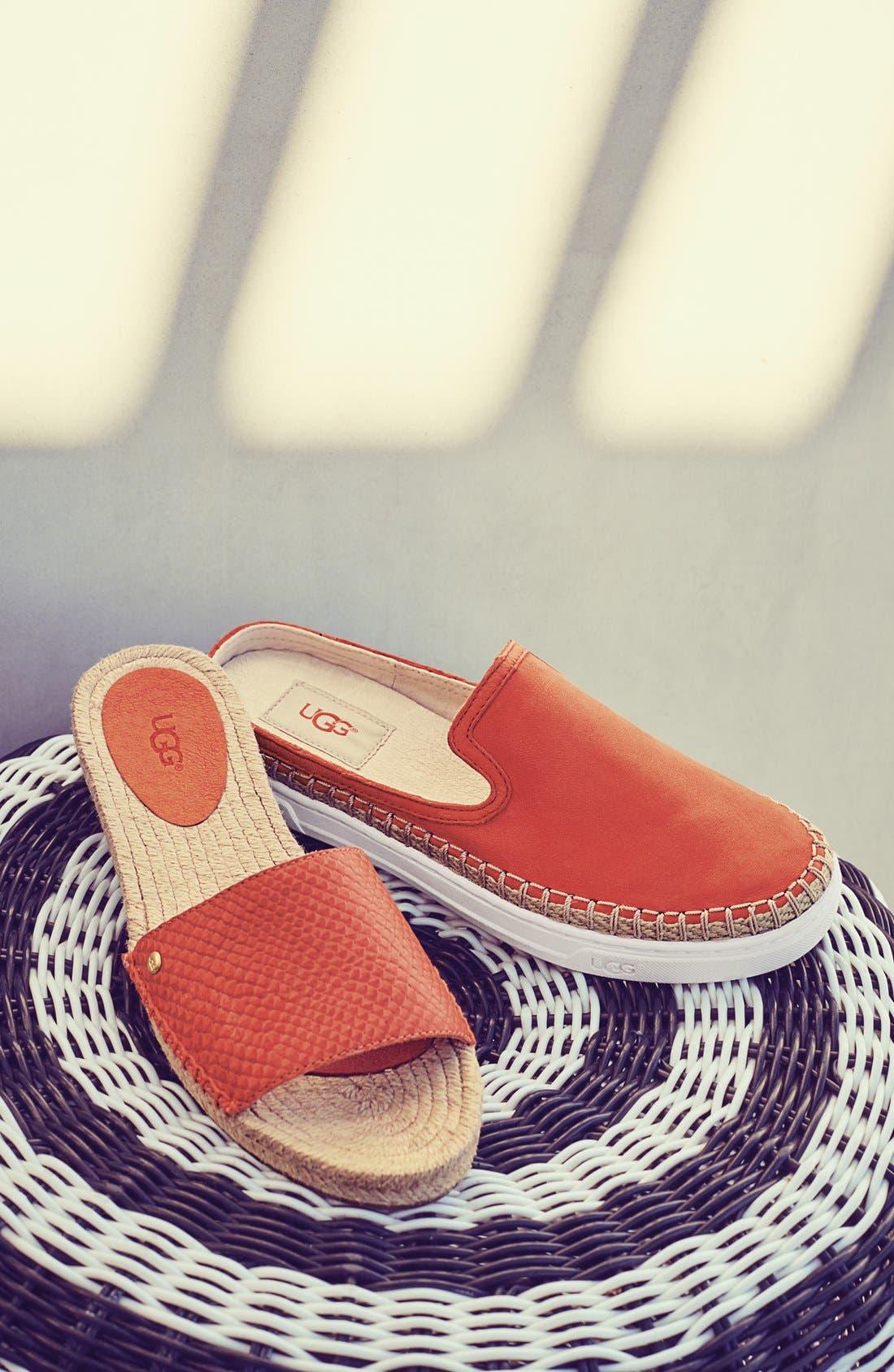 Alternate Image 5  - UGG® 'Caleel' Slip-On Sneaker (Women)