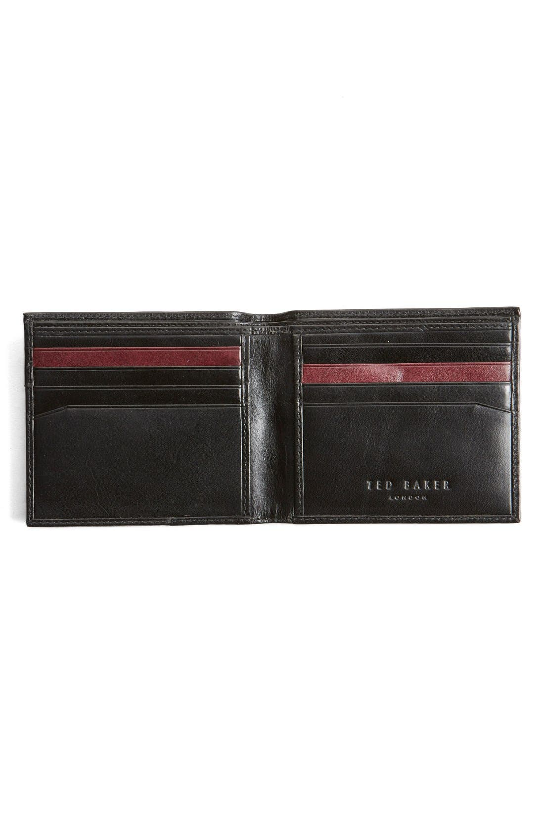 Alternate Image 2  - Ted Baker London Carouse Bifold Leather Wallet