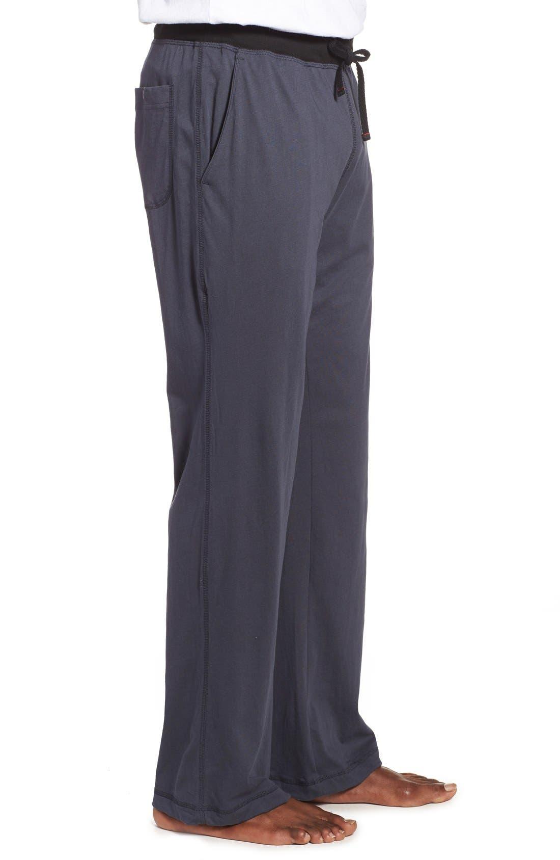 Alternate Image 3  - Daniel Buchler Peruvian Pima Cotton Lounge Pants