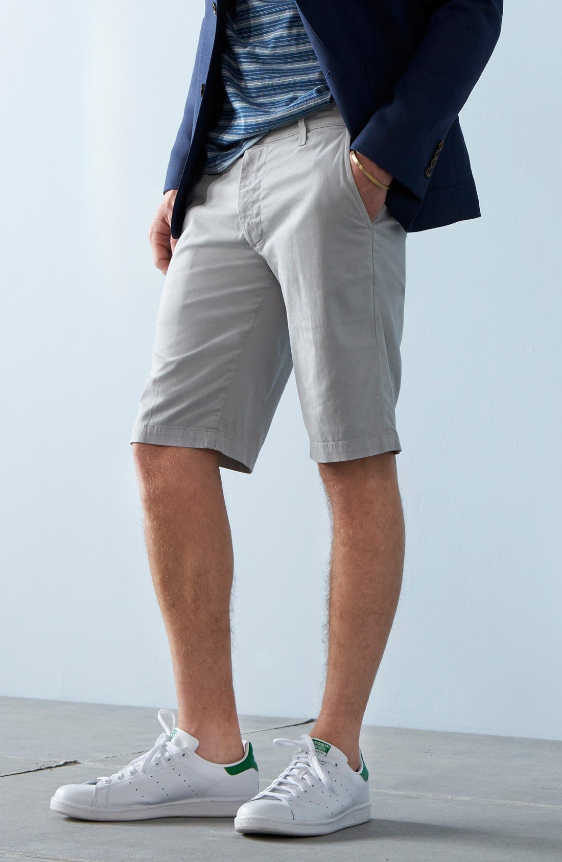 Alternate Image 6  - AG 'Griffin' Chino Shorts