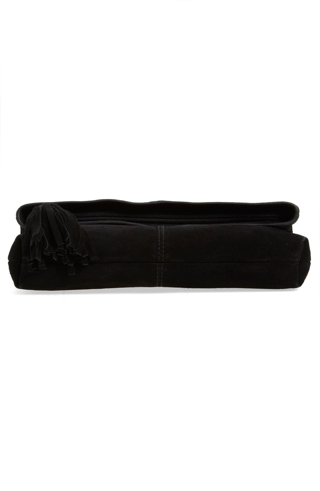 Alternate Image 6  - Leith Suede Clutch