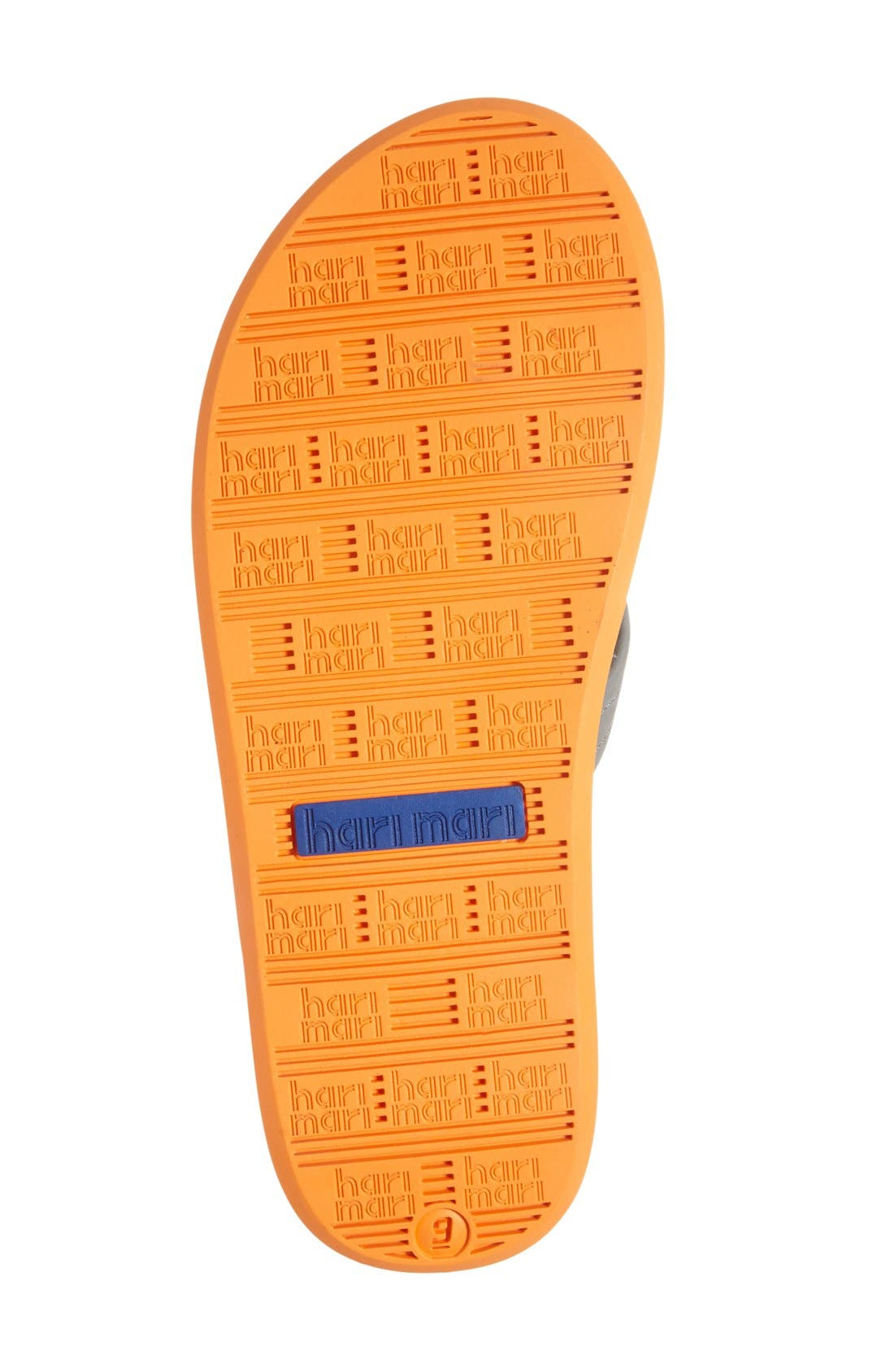 Fields Flip Flop,                             Alternate thumbnail 5, color,                             Tan/ Orange/ Tan