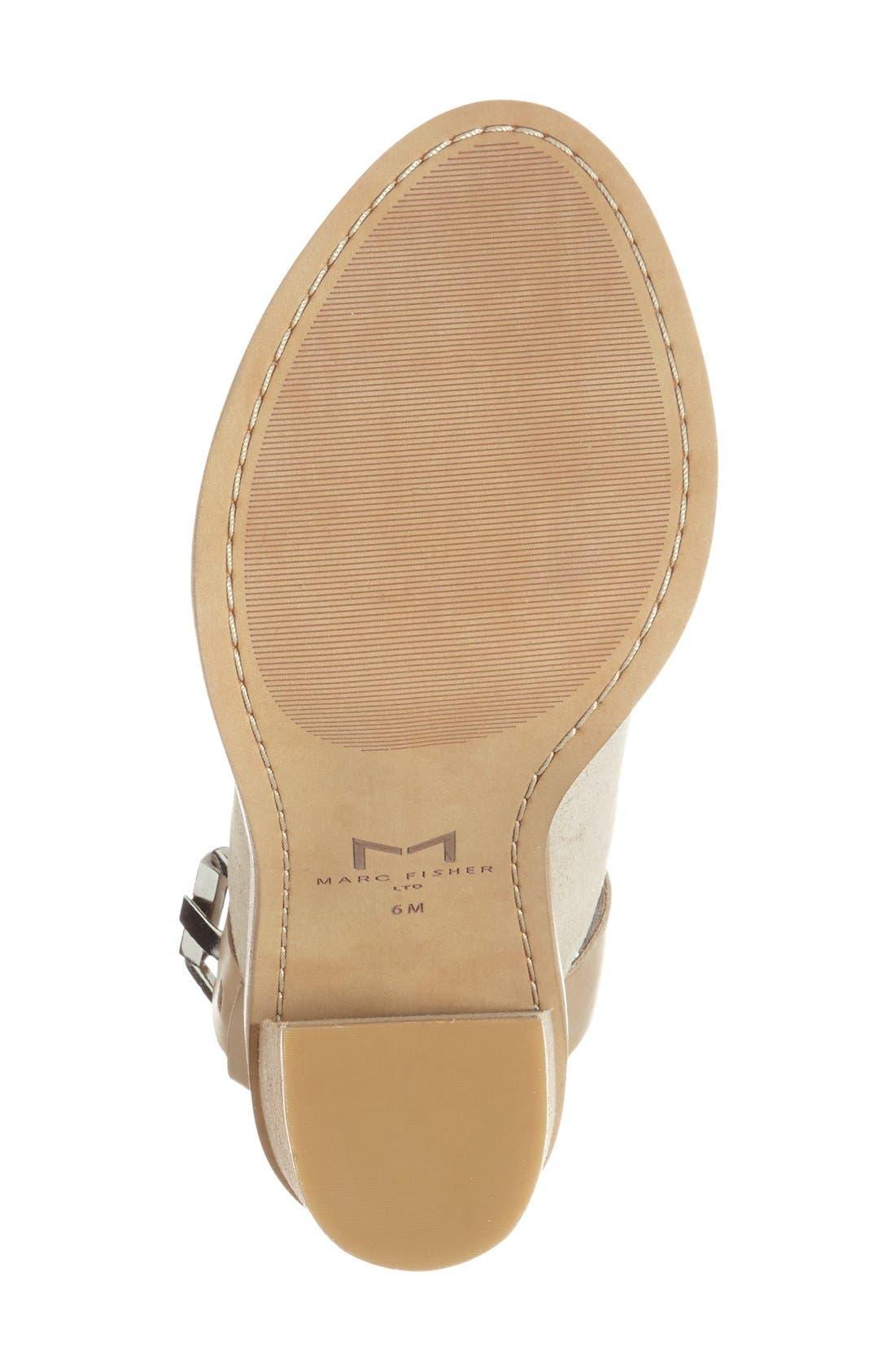Alternate Image 4  - Marc Fisher LTD Vashi Ankle Strap Sandal (Women)