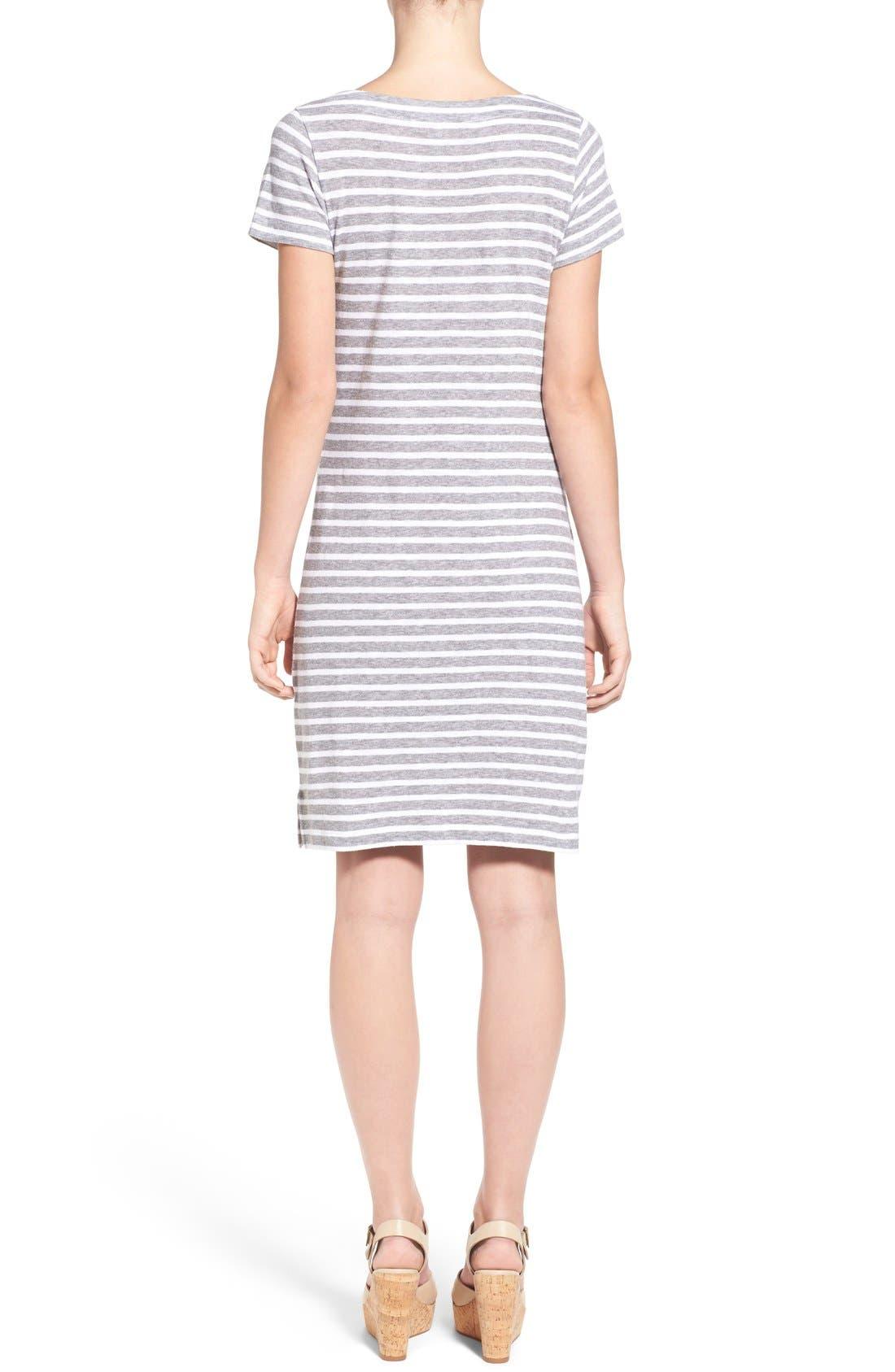 Alternate Image 2  - Vineyard Vines Stripe T-Shirt Dress