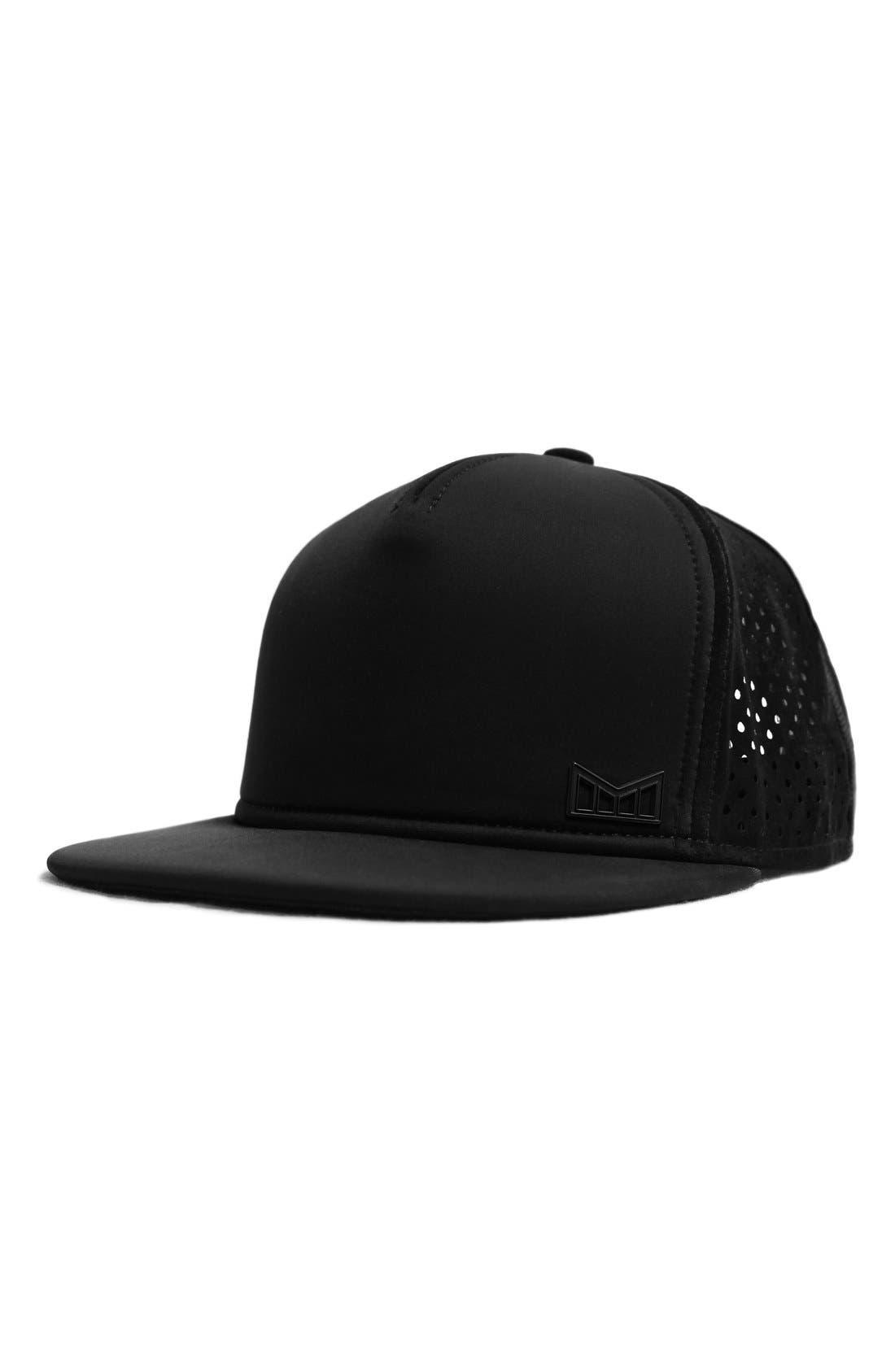 'The Sharpshooter' Snapback Baseball Cap,                         Main,                         color, Black