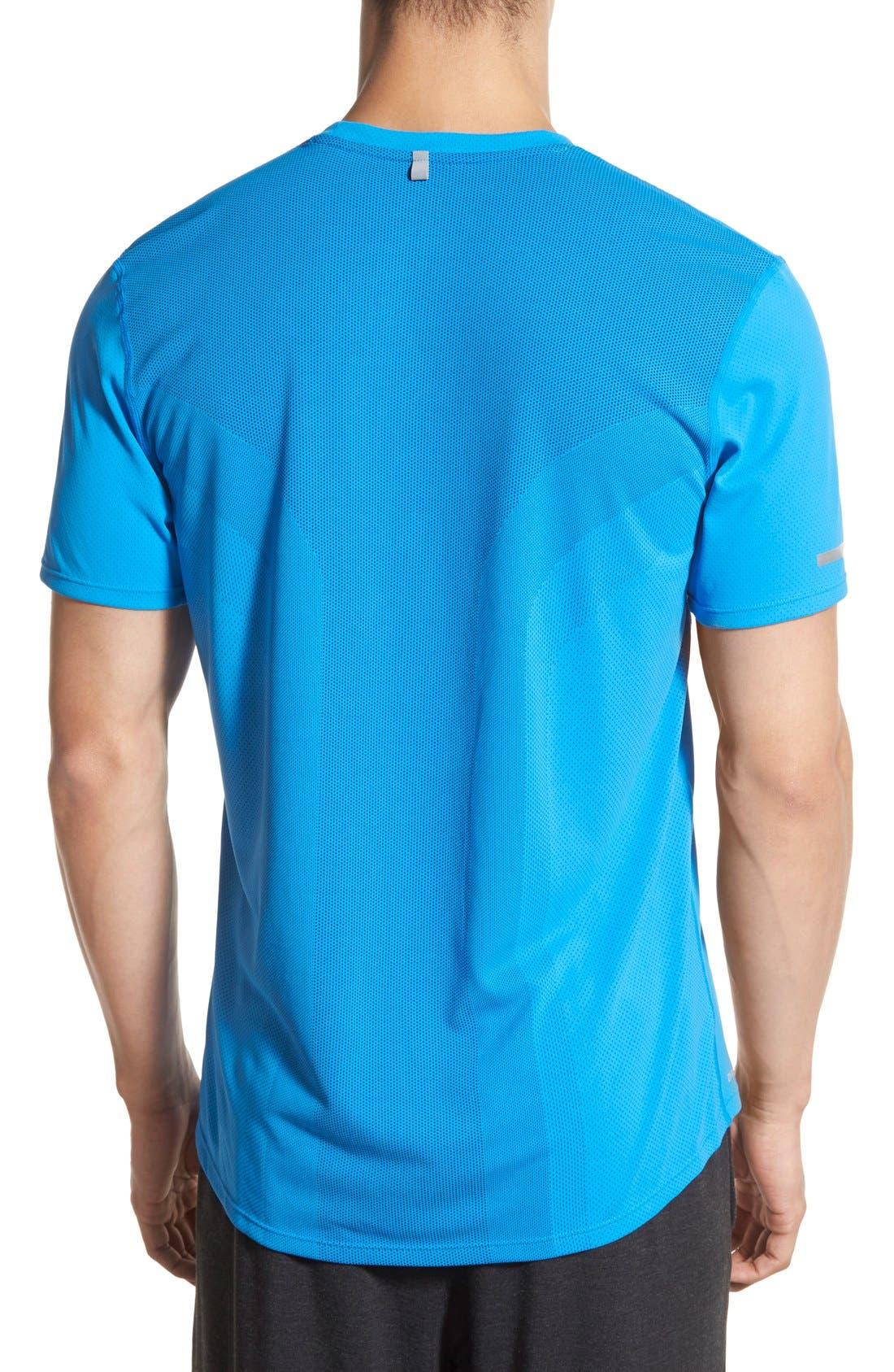 Alternate Image 5  - Nike 'Contour' Mesh Dri-FIT Running T-Shirt