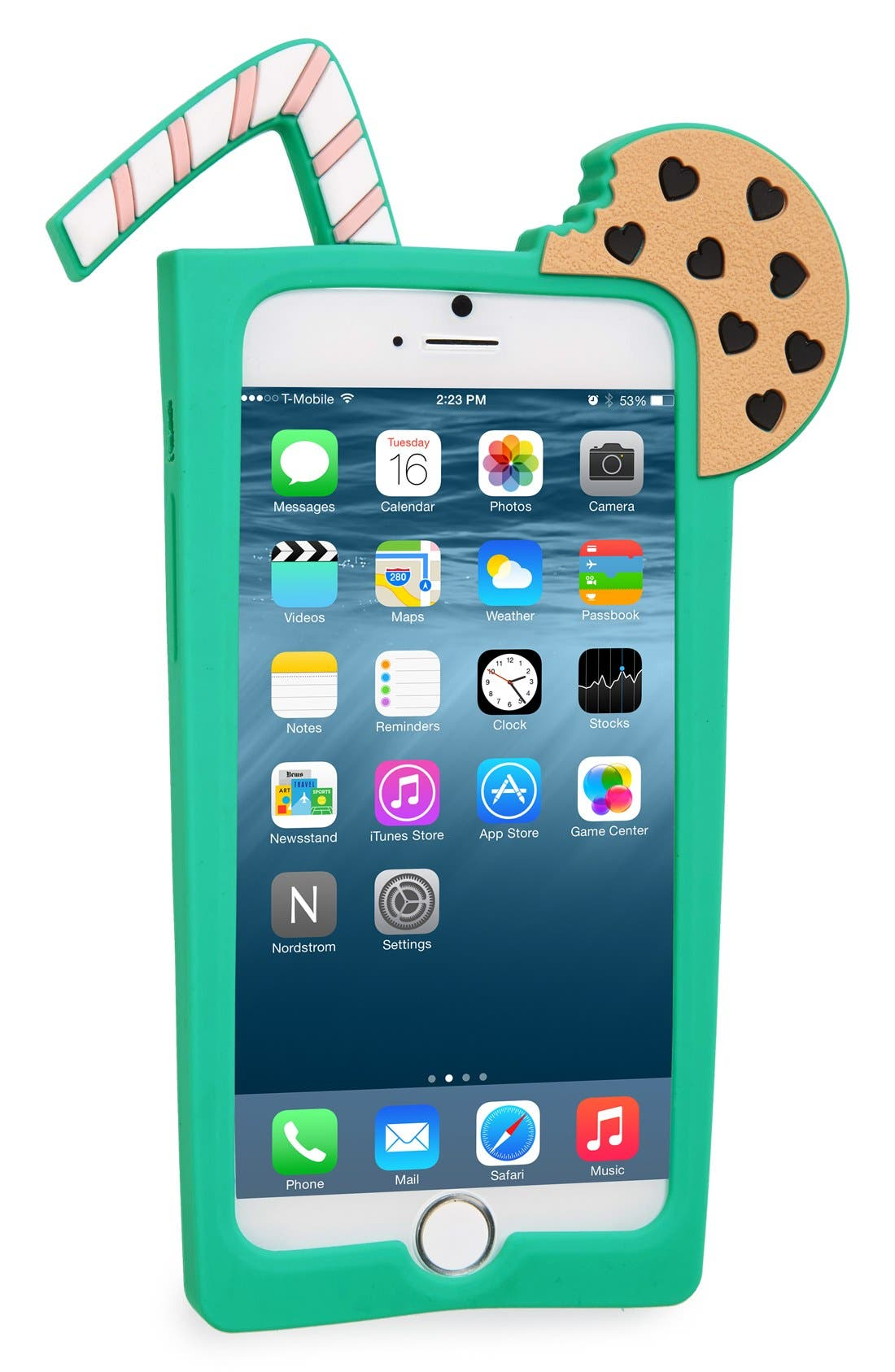 Alternate Image 2  - Lolli Swim Milk N' Cookies iPhone 6/6s Case