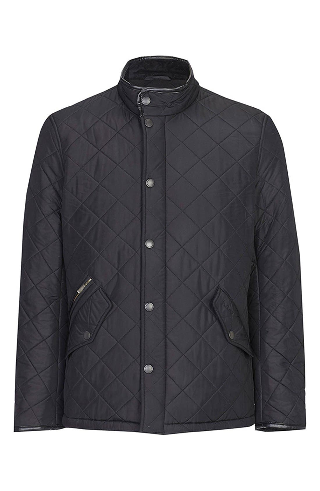 Alternate Image 6  - Barbour 'Powell' Regular Fit Quilted Jacket