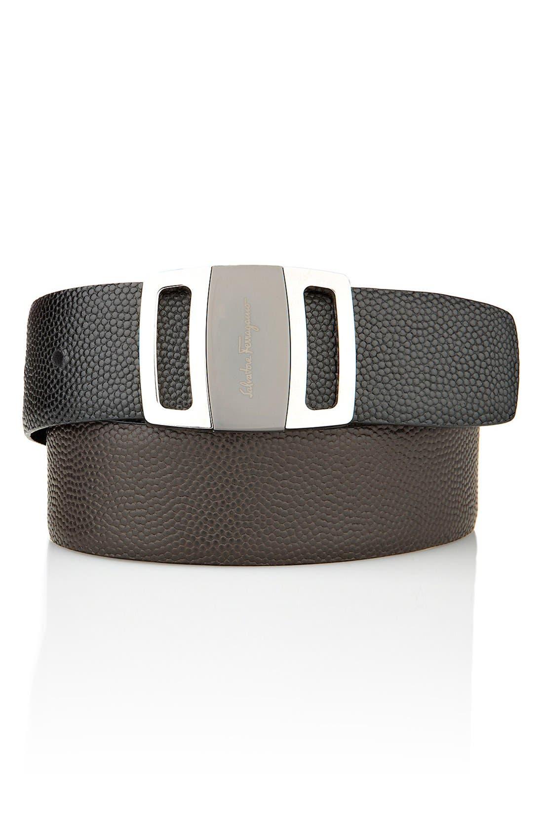 Alternate Image 6  - Salvatore Ferragamo Reversible Leather Belt