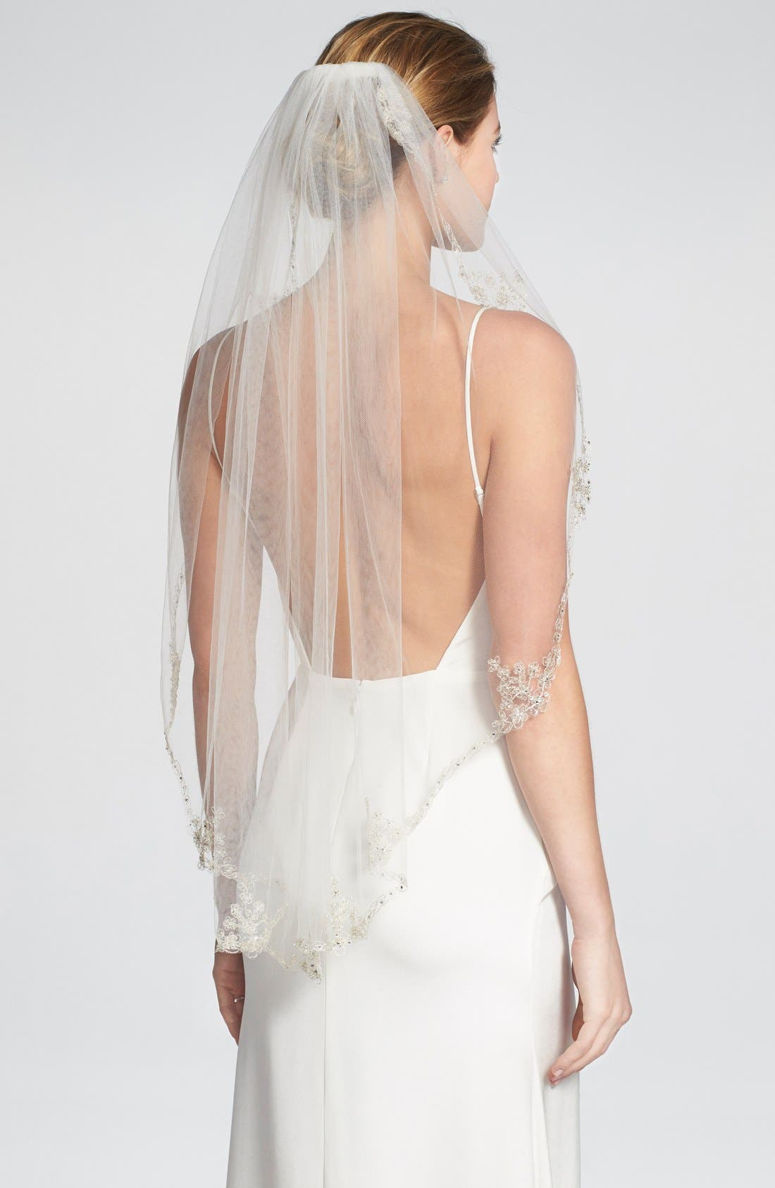 Alternate Image 2  - Brides & Hairpins 'Sophie' Embellished Tulle Veil