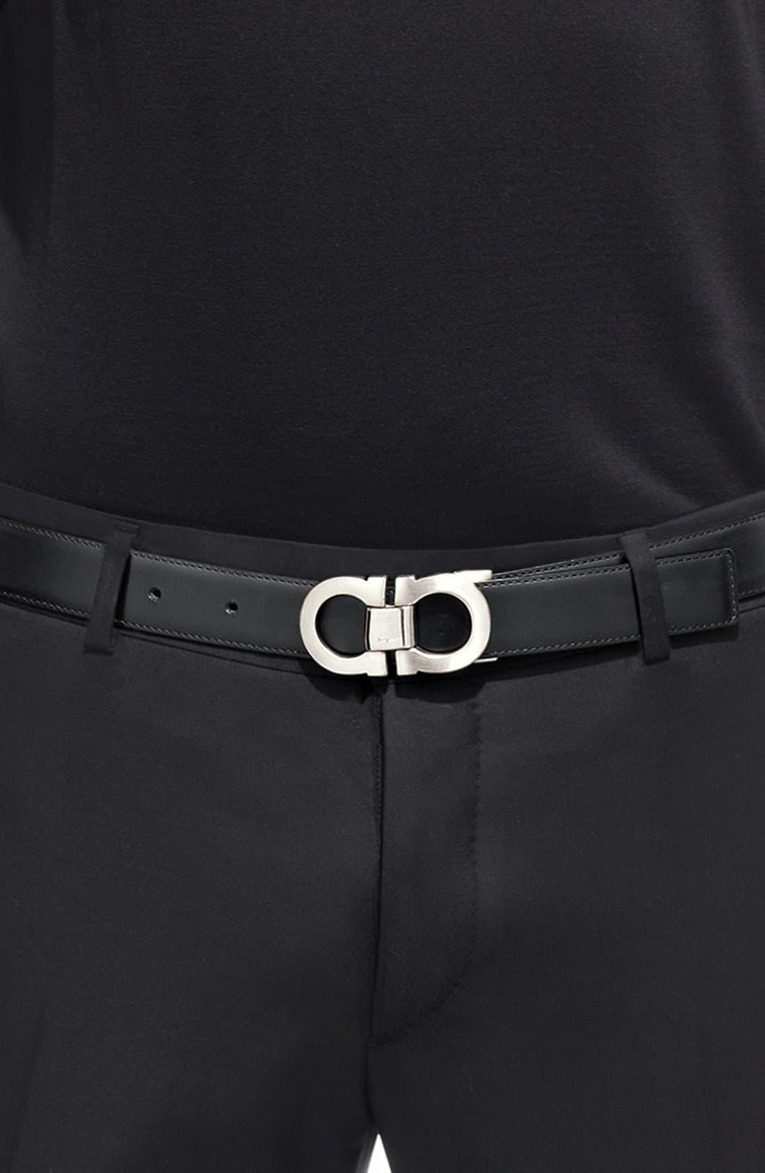 Alternate Image 12  - Salvatore Ferragamo Double Gancio Reversible Leather Belt