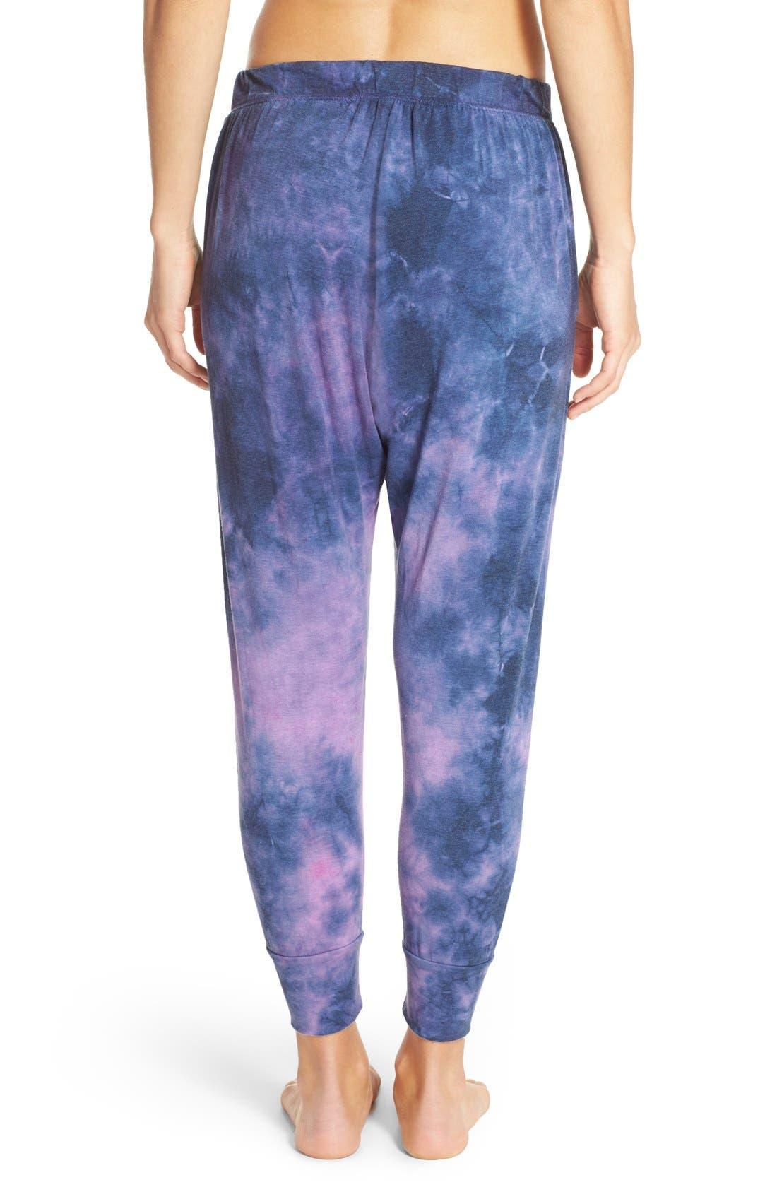 Alternate Image 2  - Spiritual Gangster Tie Dye Harem Pants