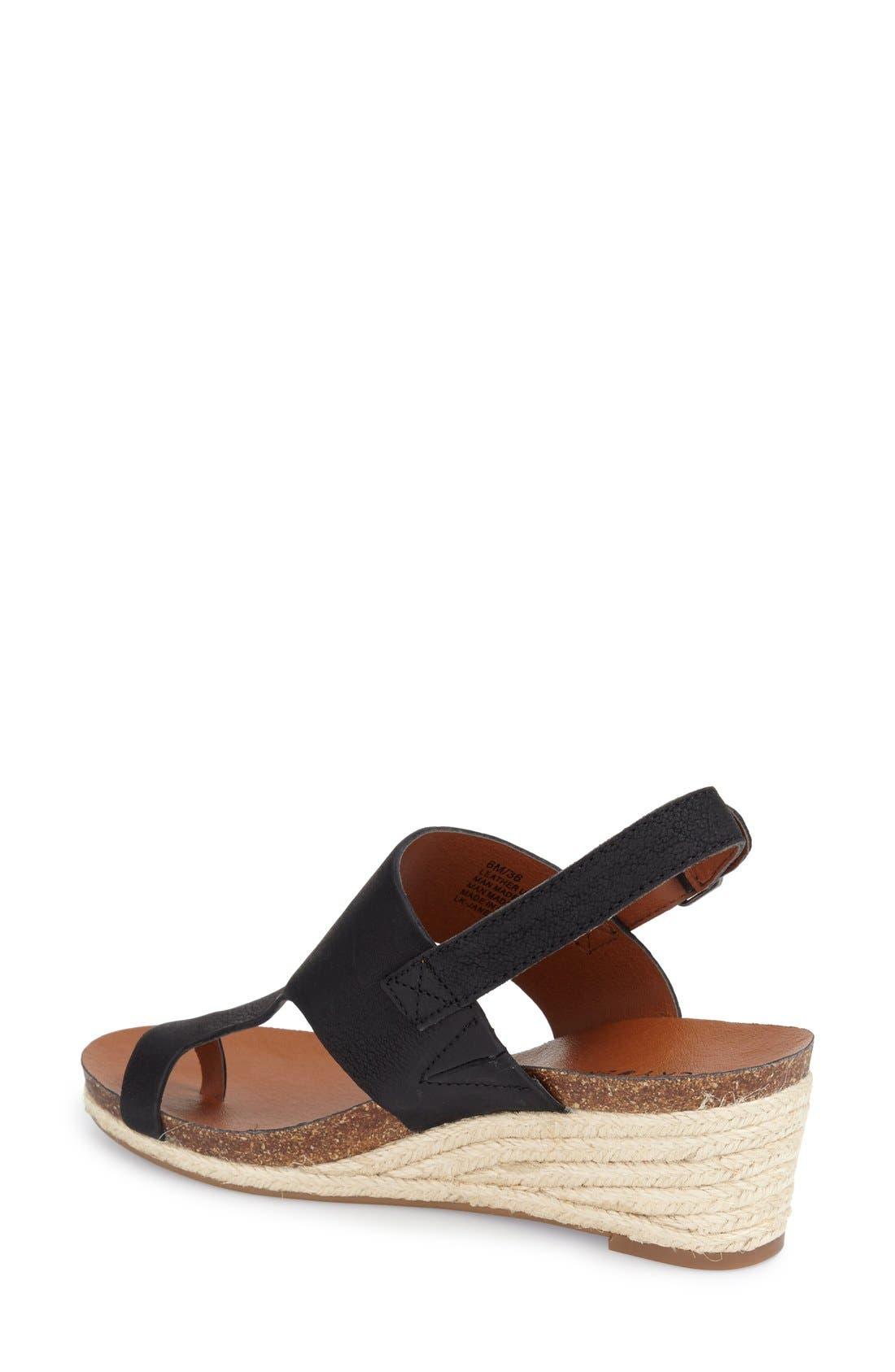 Alternate Image 2  - Lucky Brand 'Janessa' Espadrille Wedge Sandal (Women)