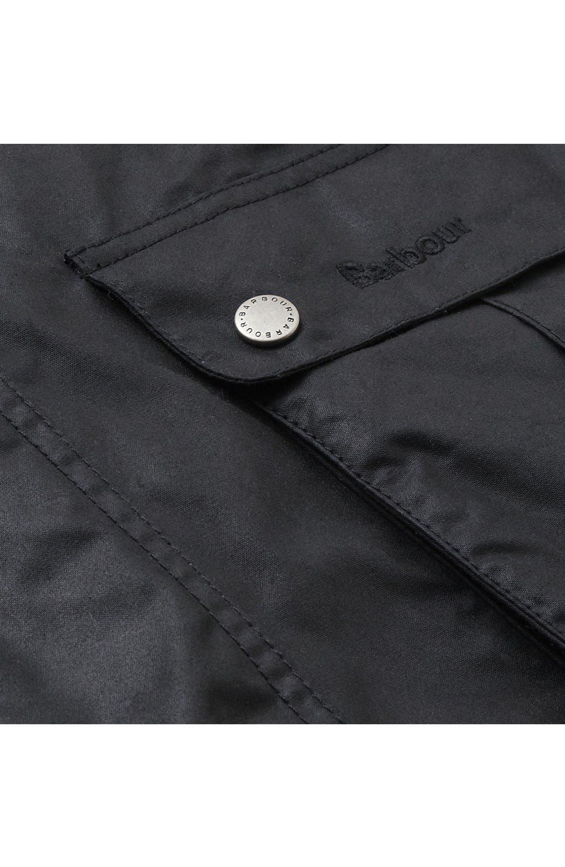 Alternate Image 7  - Barbour 'Duke' Regular Fit Waterproof Waxed Cotton Jacket