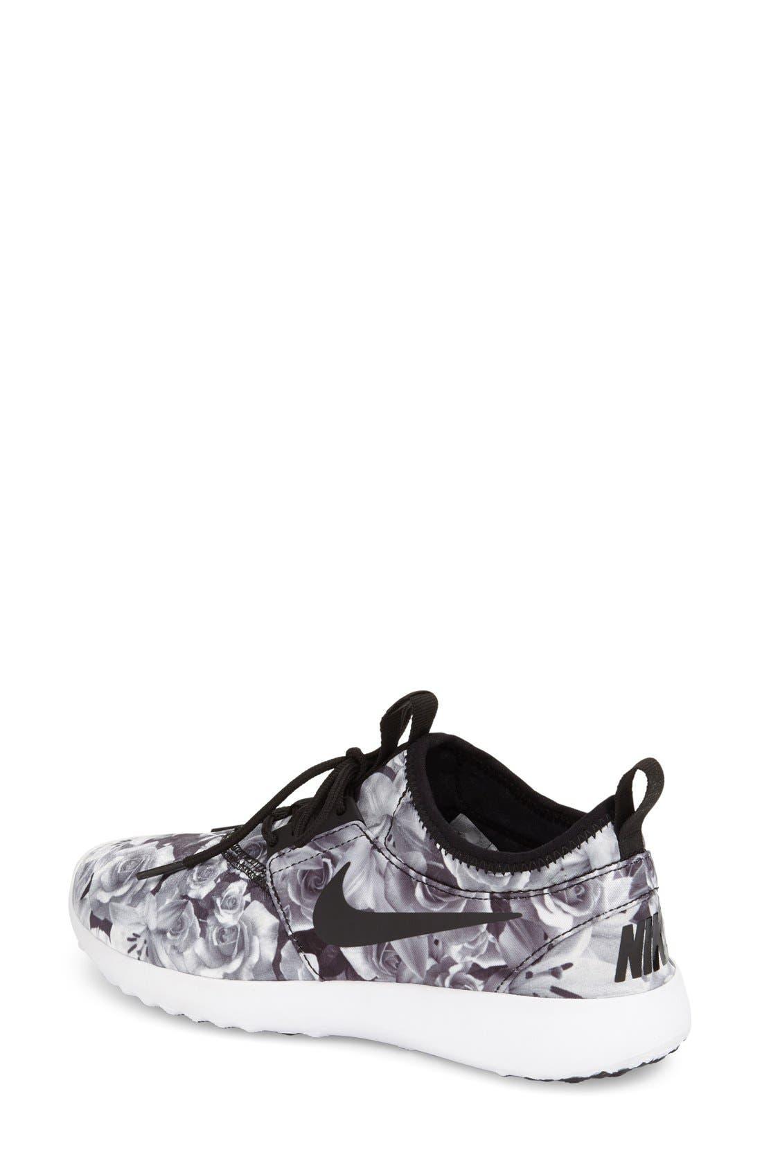 Juvenate Sneaker,                             Alternate thumbnail 4, color,                             Black/ Black/ White