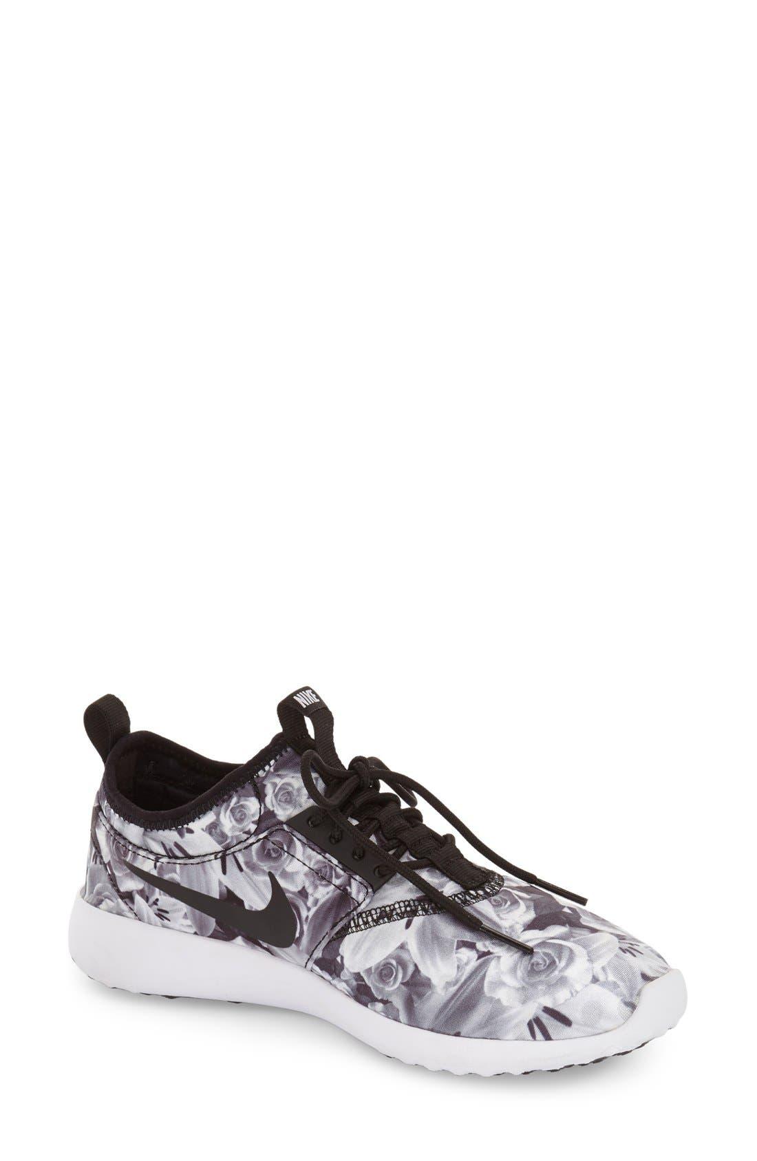 Juvenate Sneaker,                         Main,                         color, Black/ Black/ White