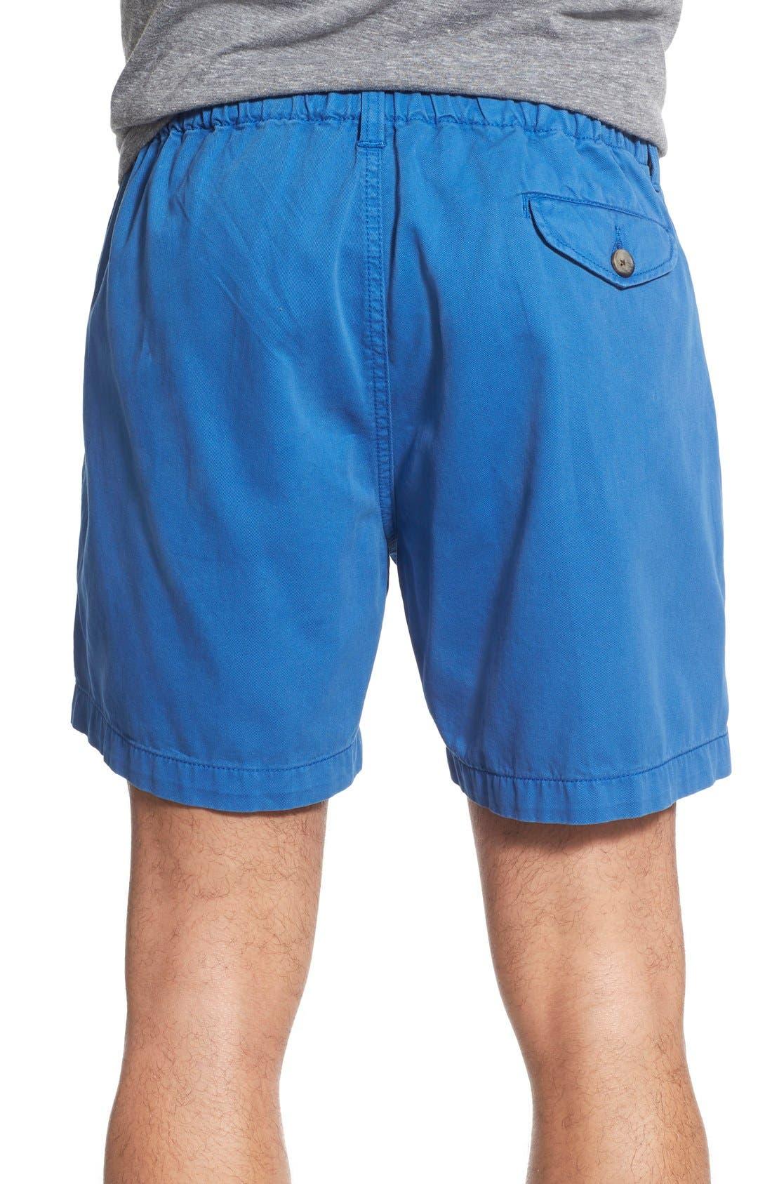 Alternate Image 2  - Vintage 1946 'Snappers' Vintage Washed Elastic Waistband Shorts