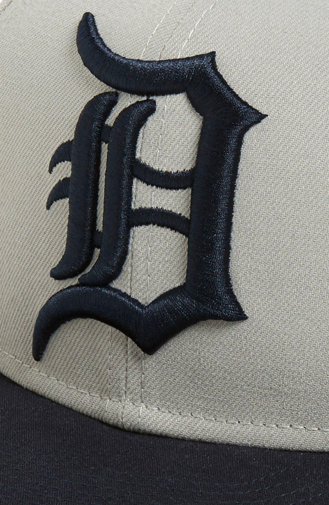 Alternate Image 2  - New Era Cap 'Detroit Tigers' Snapback Cap