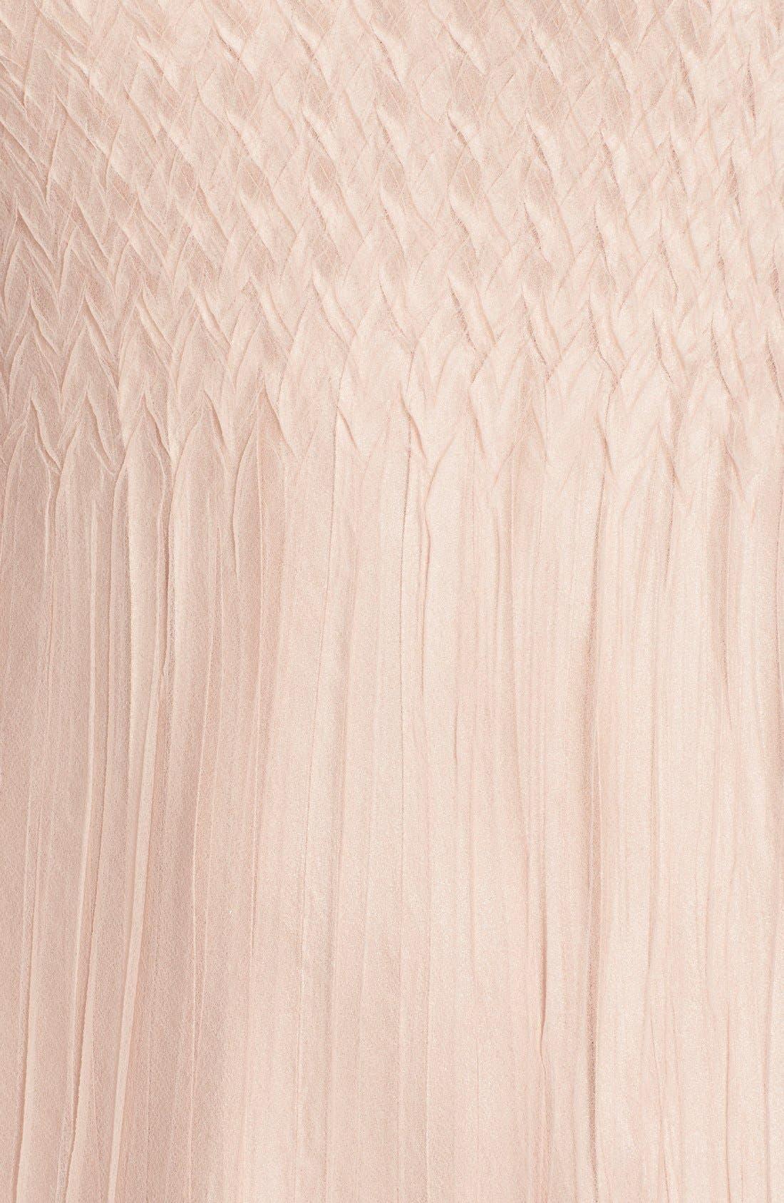 Alternate Image 6  - Komarov Mixed Media A-Line Dress