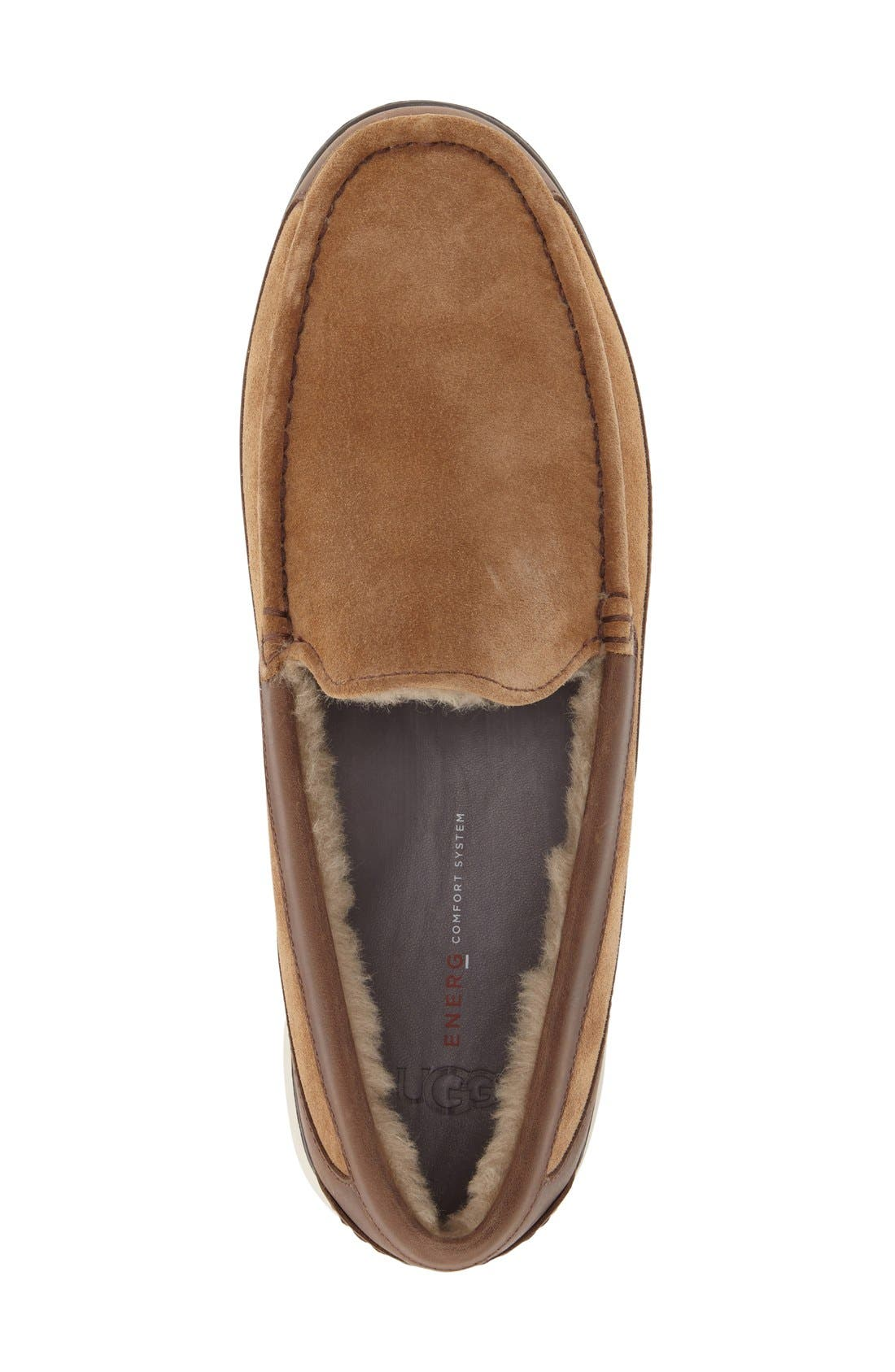 Fascot Indoor/Outdoor Slipper,                             Alternate thumbnail 4, color,                             Chestnut