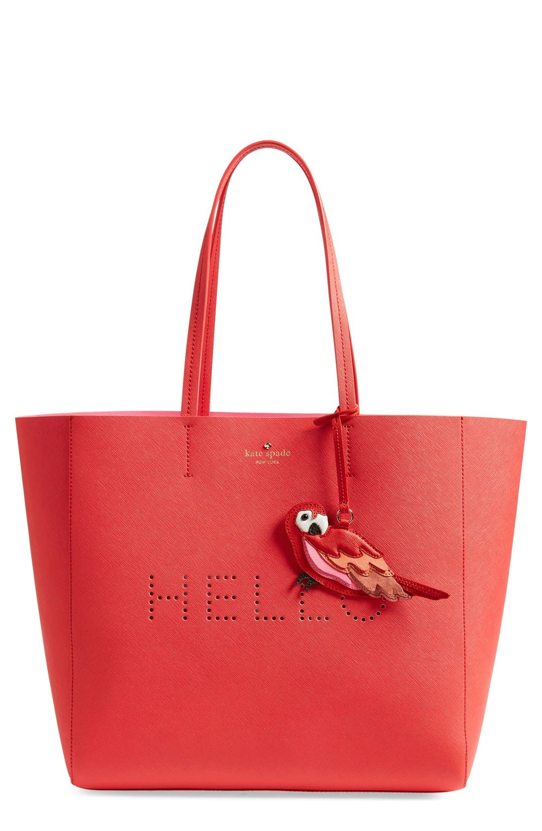Main Image - kate spade new york 'flights of fancy - hallie' saffiano leather tote