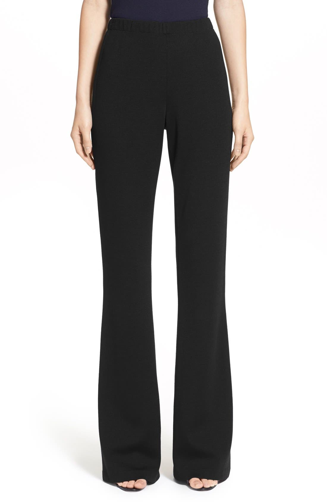 Alternate Image 1 Selected - St. John Collection 'Kasia' Bootcut Milano Knit Pants