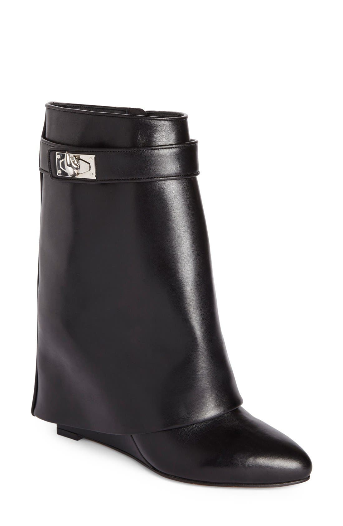 Main Image - Givenchy Shark-Tooth Pant-Leg  Bootie (Women)