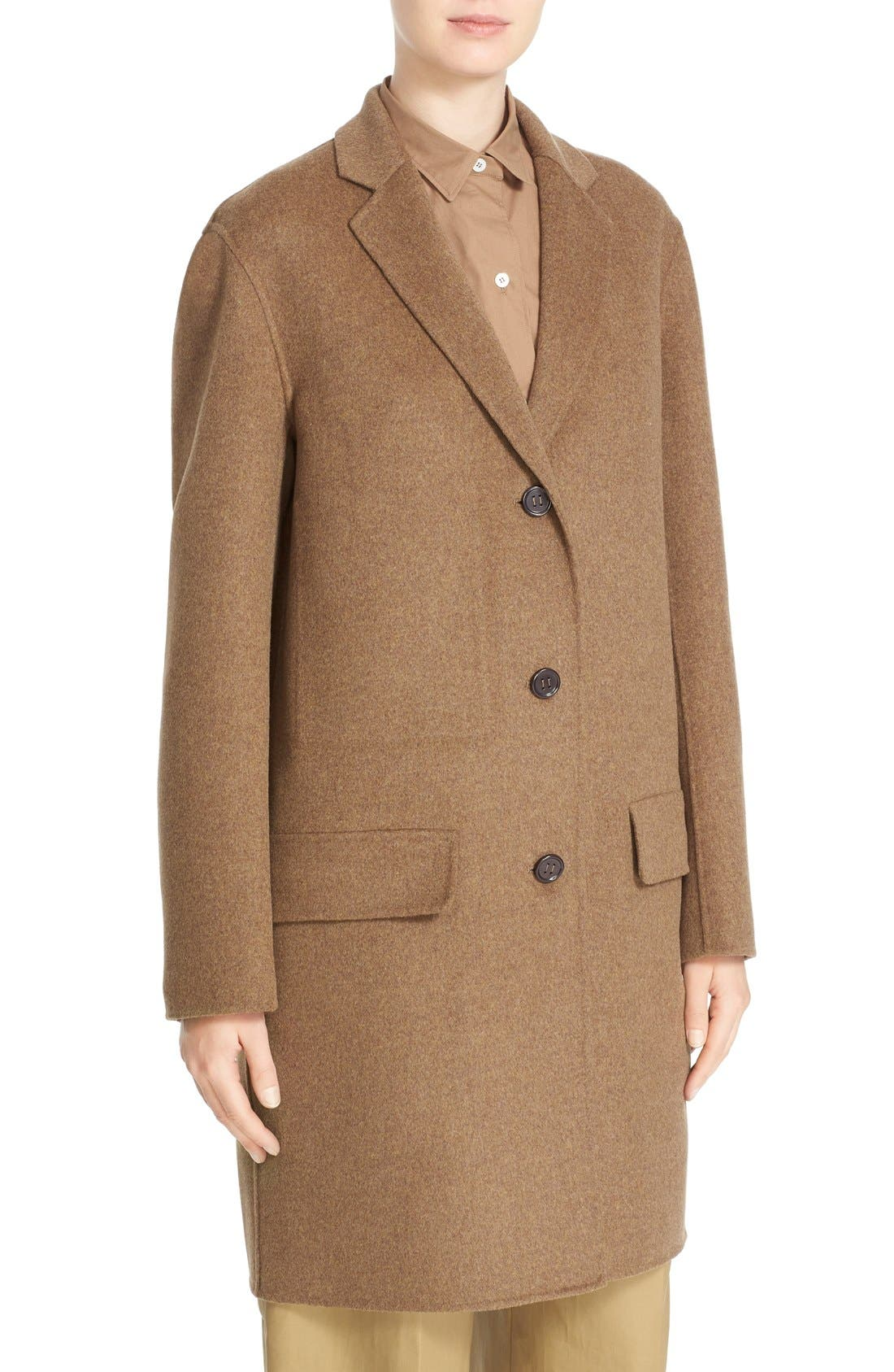 Alternate Image 6  - Sofie D'Hoore 'Click' Wool & Cashmere Long Coat