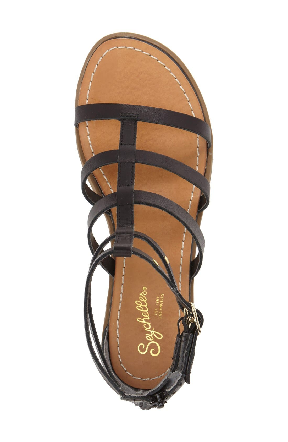 Alternate Image 3  - Seychelles 'Peachy' Gladiator Flat Sandal (Women)