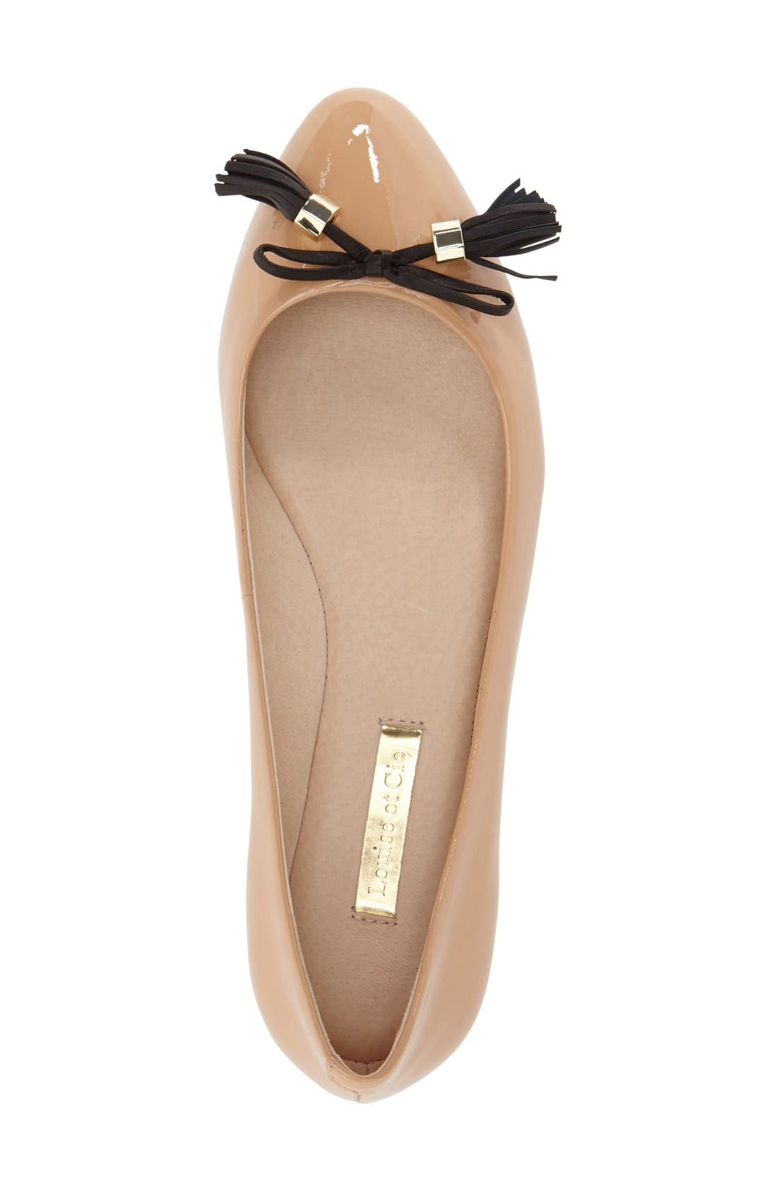 Alternate Image 3  - Louise et Cie 'Aradella' Pointy Toe Flat (Women) (Nordstrom Exclusive)