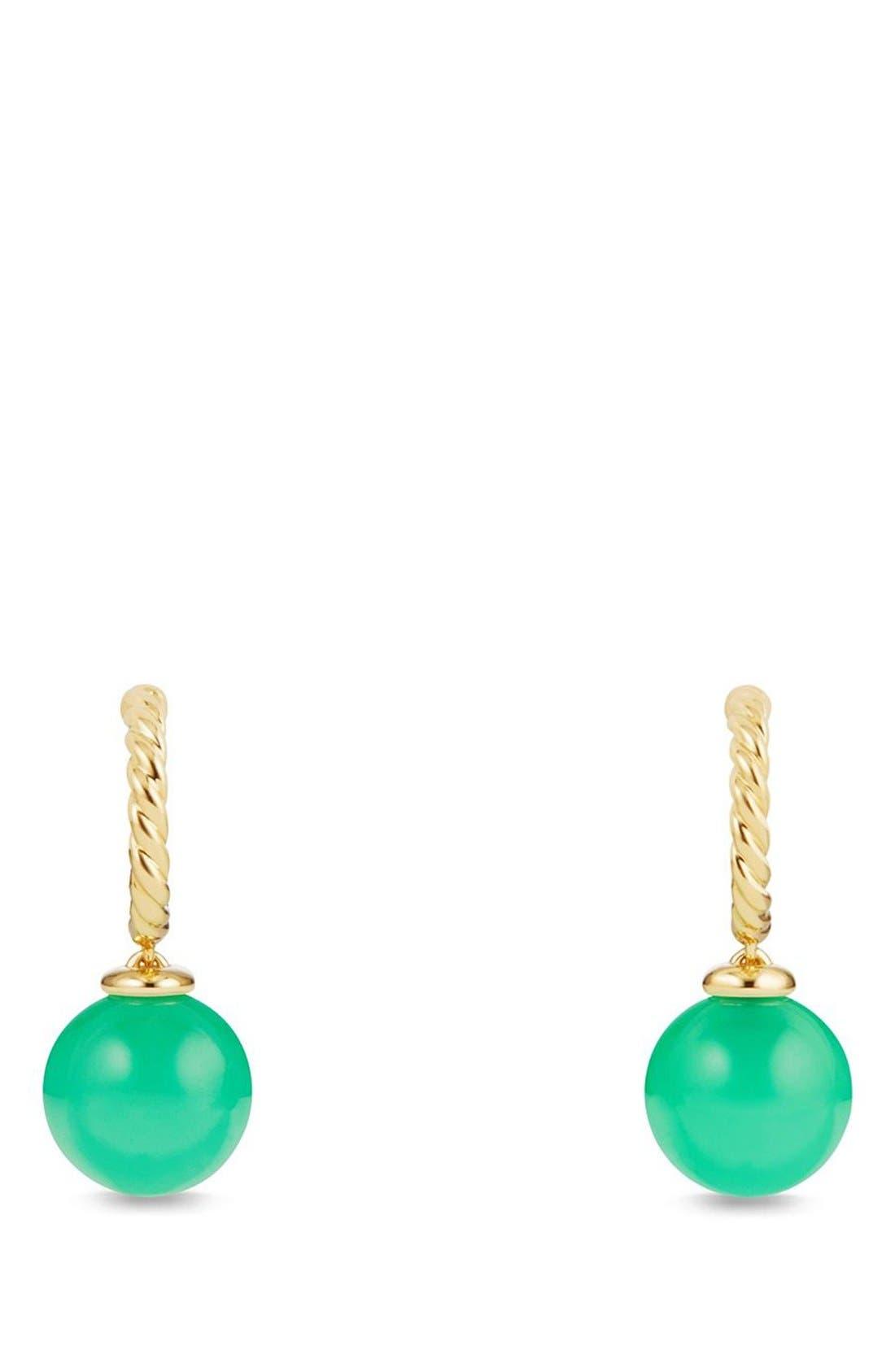 David Yurman 'Solari' Hoop Earrings in 18K Gold