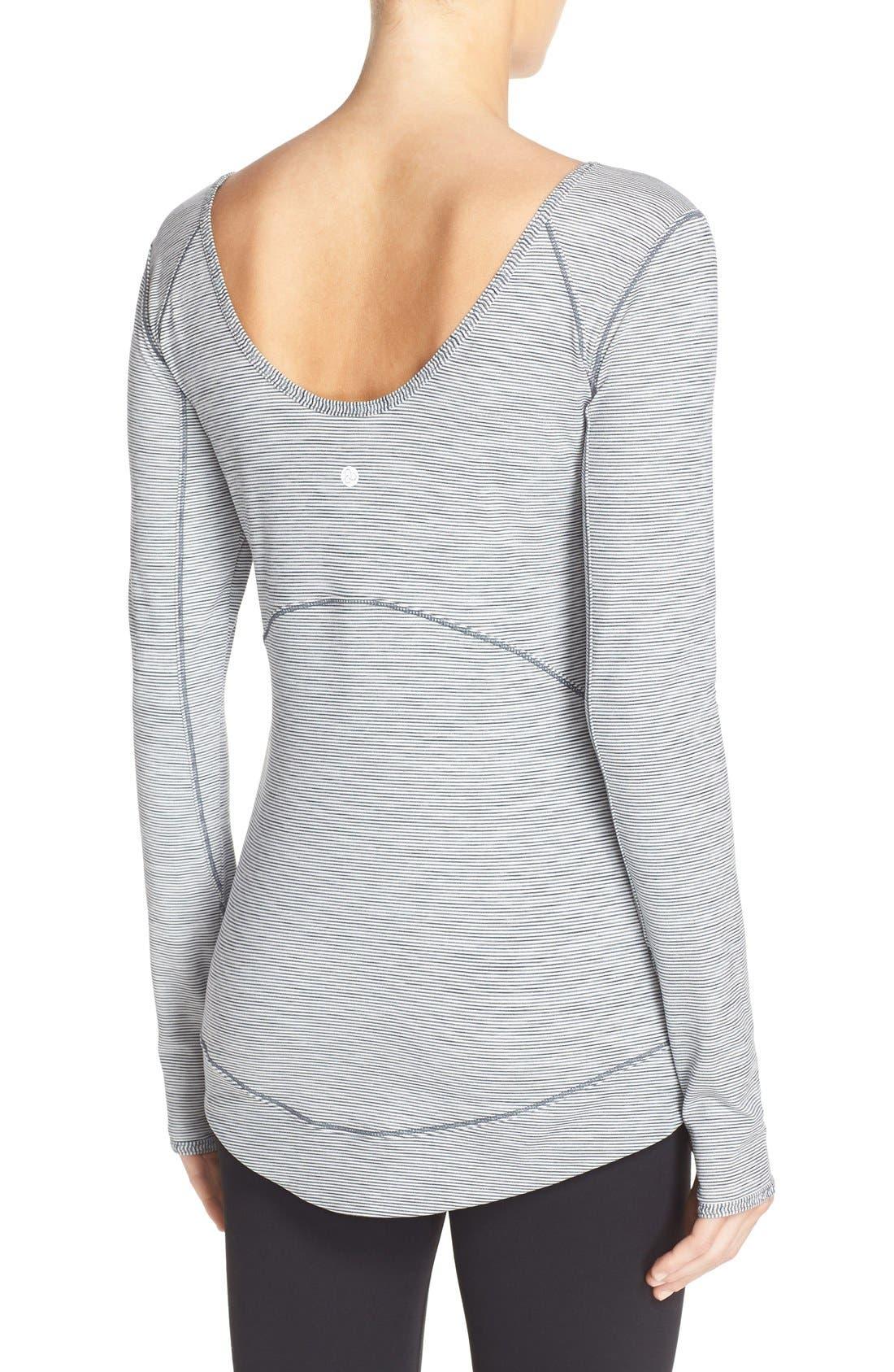 Alternate Image 2  - Zella Layer Me Pullover